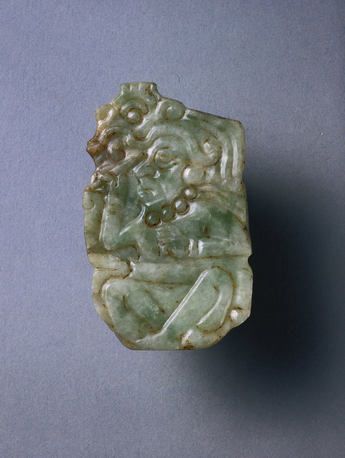 Pendant with Scribe Figure