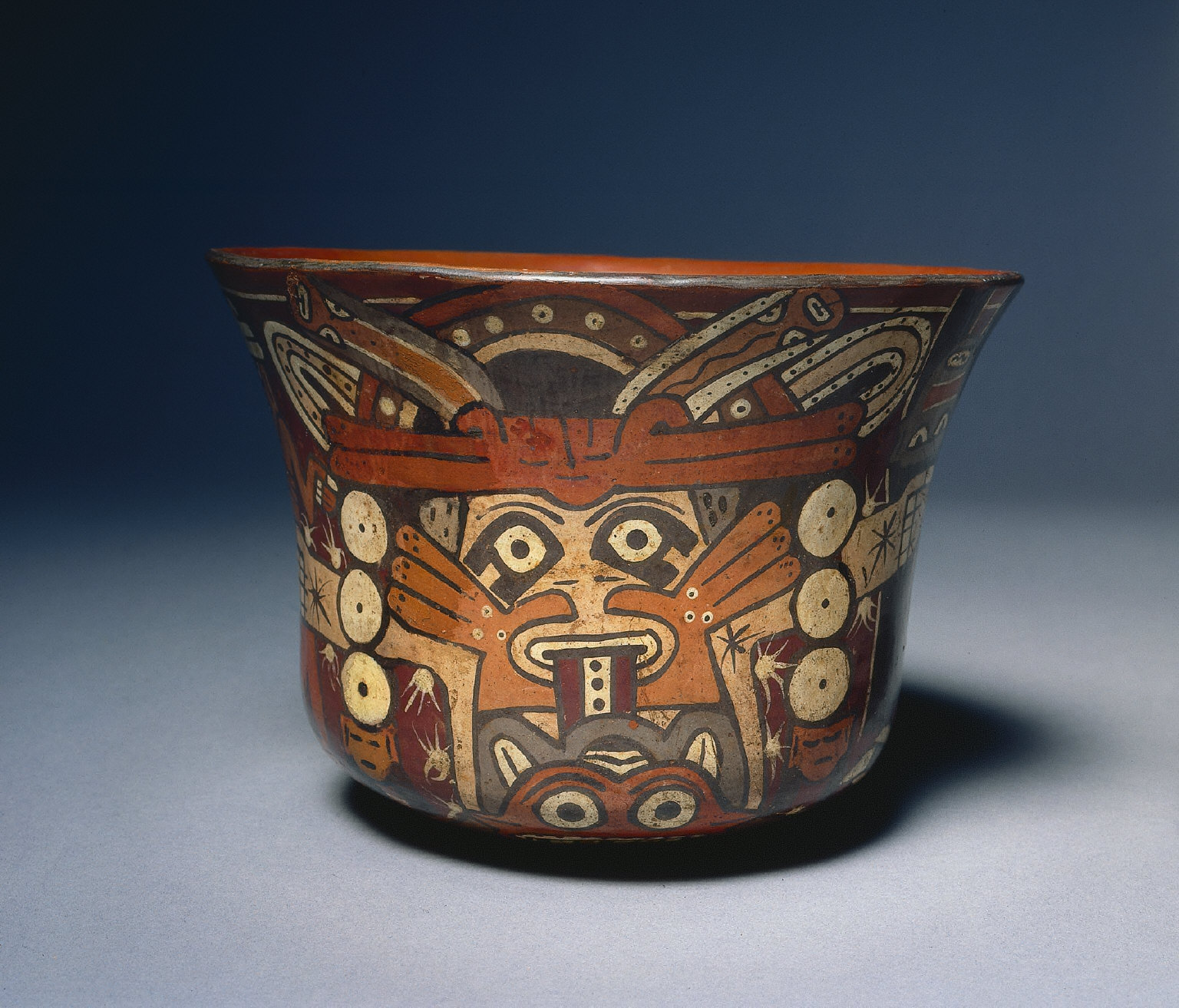 Bowl with Trophy-head Taster Image