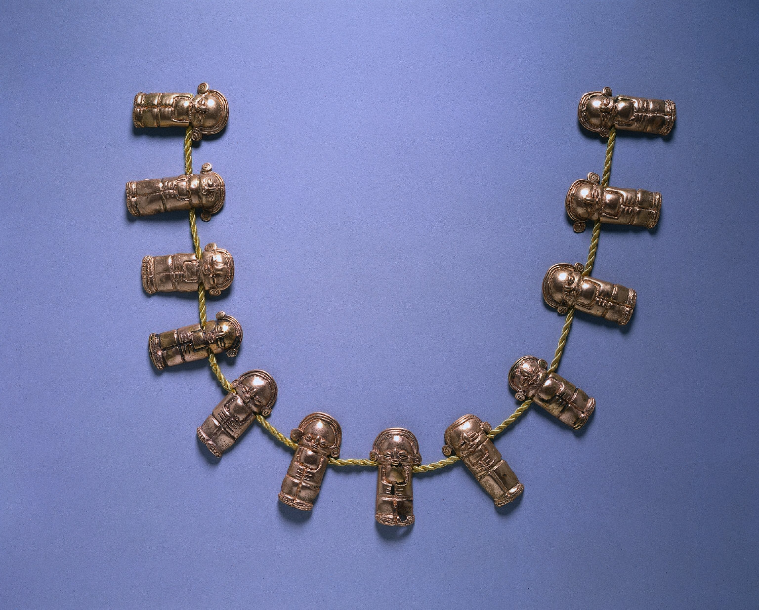 Necklace with Figurine Beads