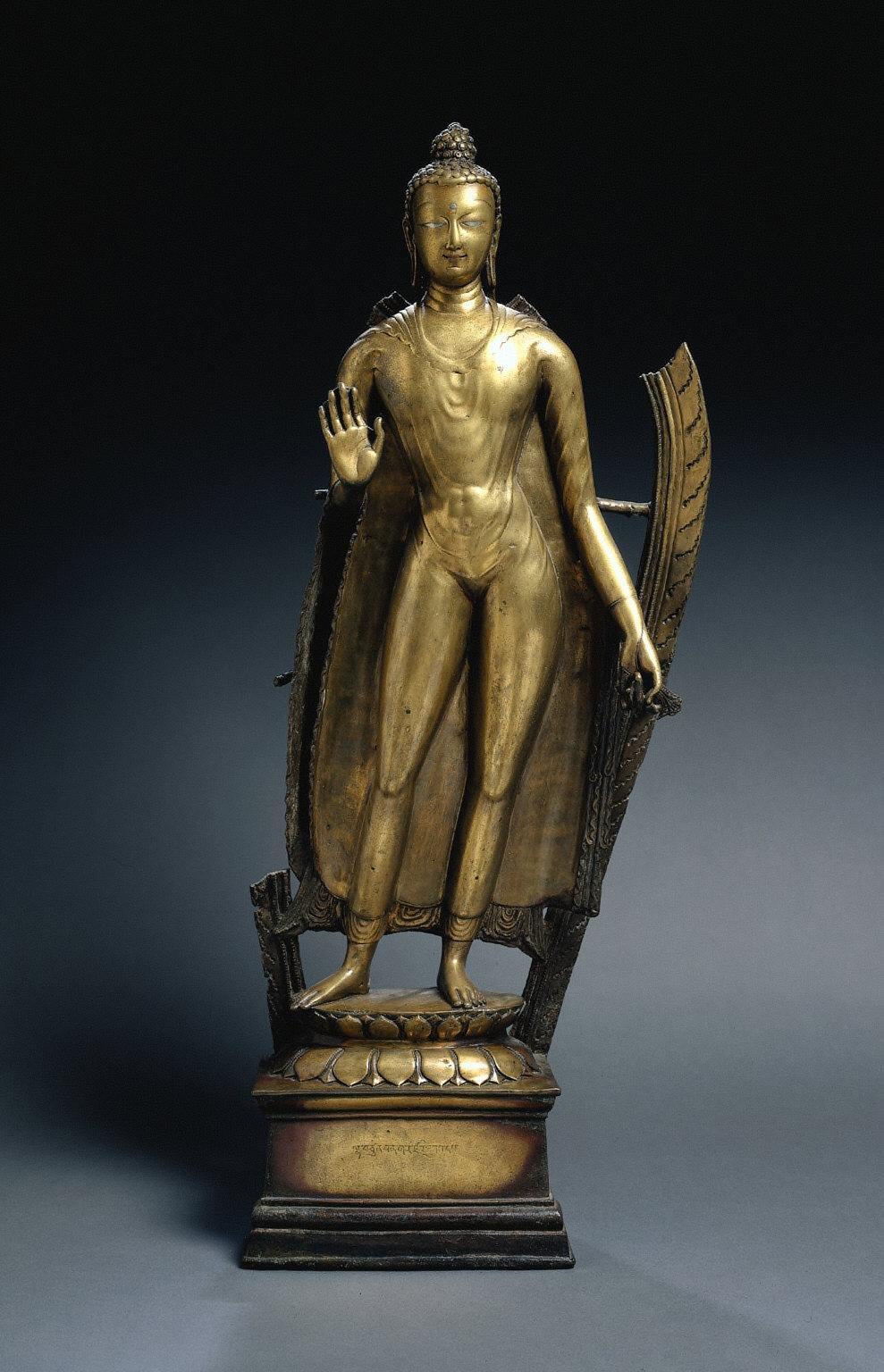 Standing Budda, (Udayana Type)