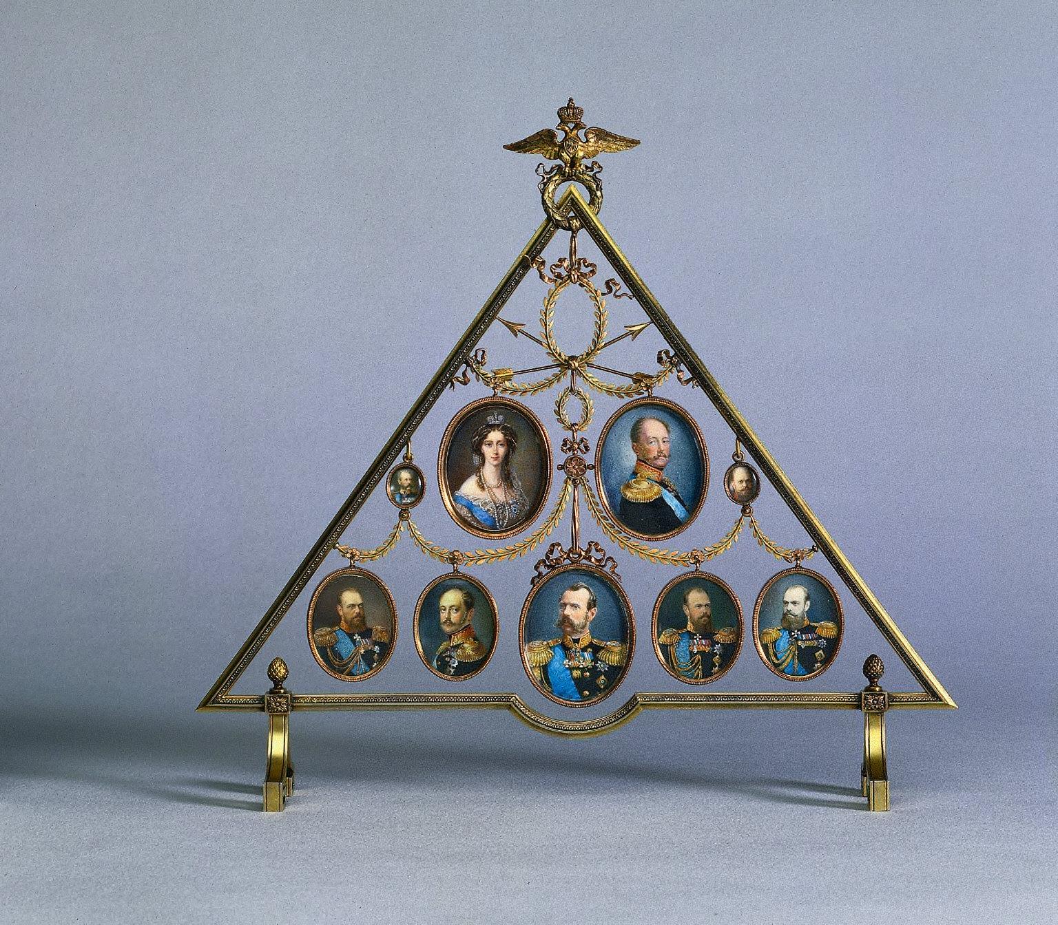 Frame for Nine Miniatures