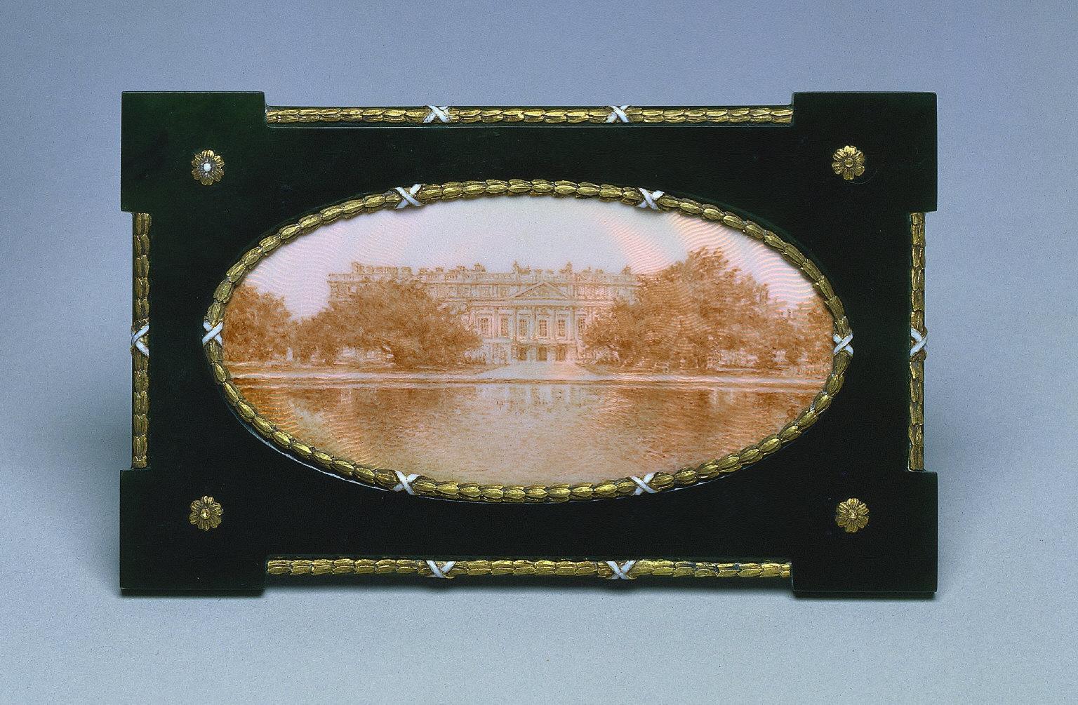 Framed Miniature of Hampton Court
