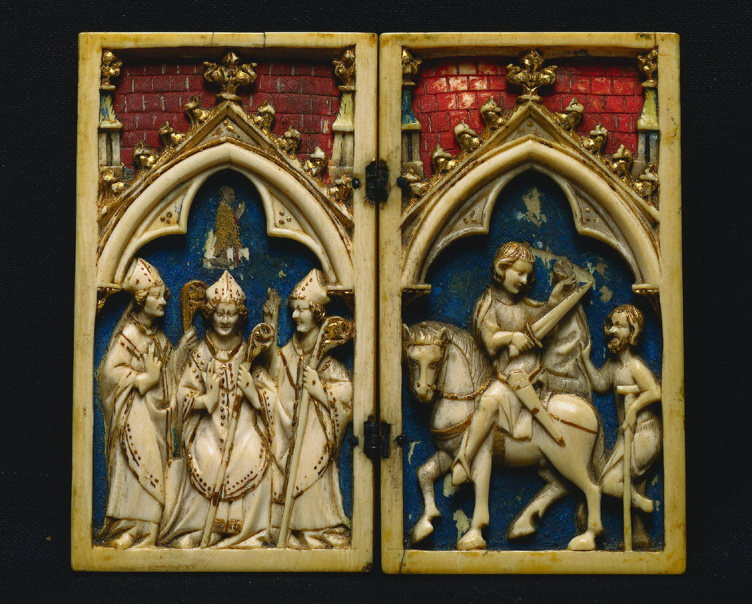 Diptych: The Life of Saint Martin of Tours