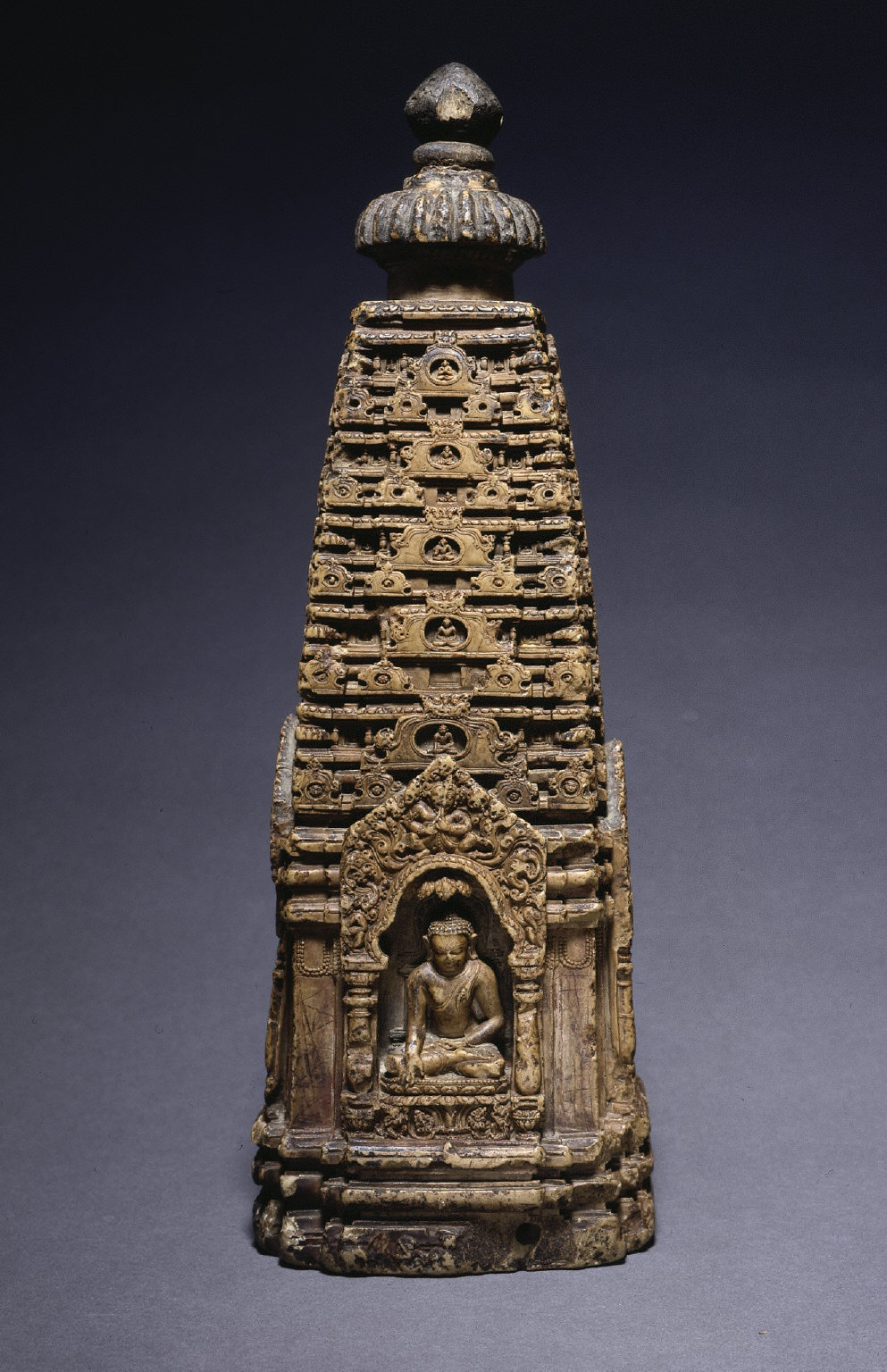 Model of the Sikhara of a Buddhist Temple