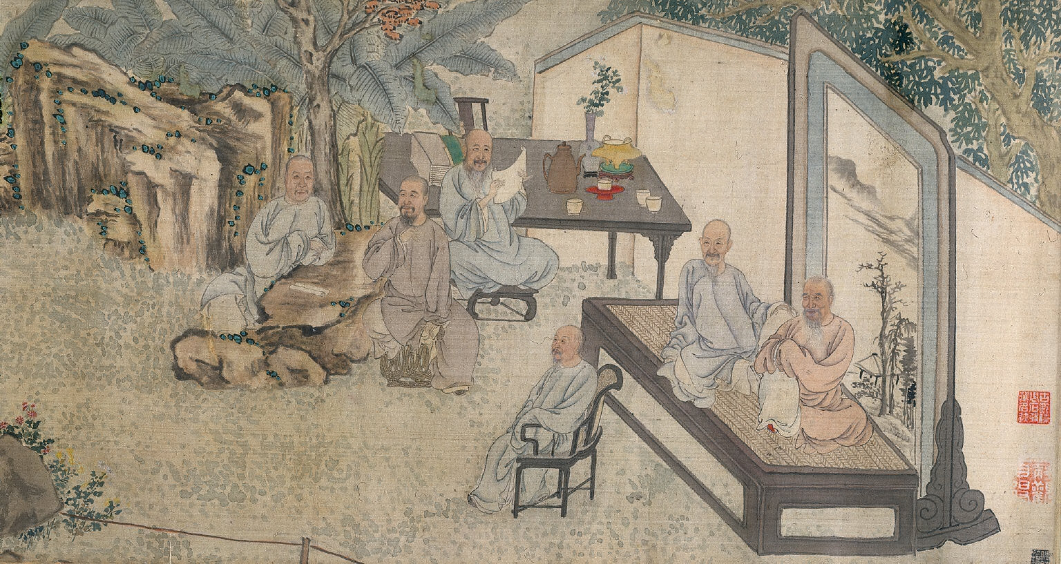 The Literary Gathering at Yangzhou Garden