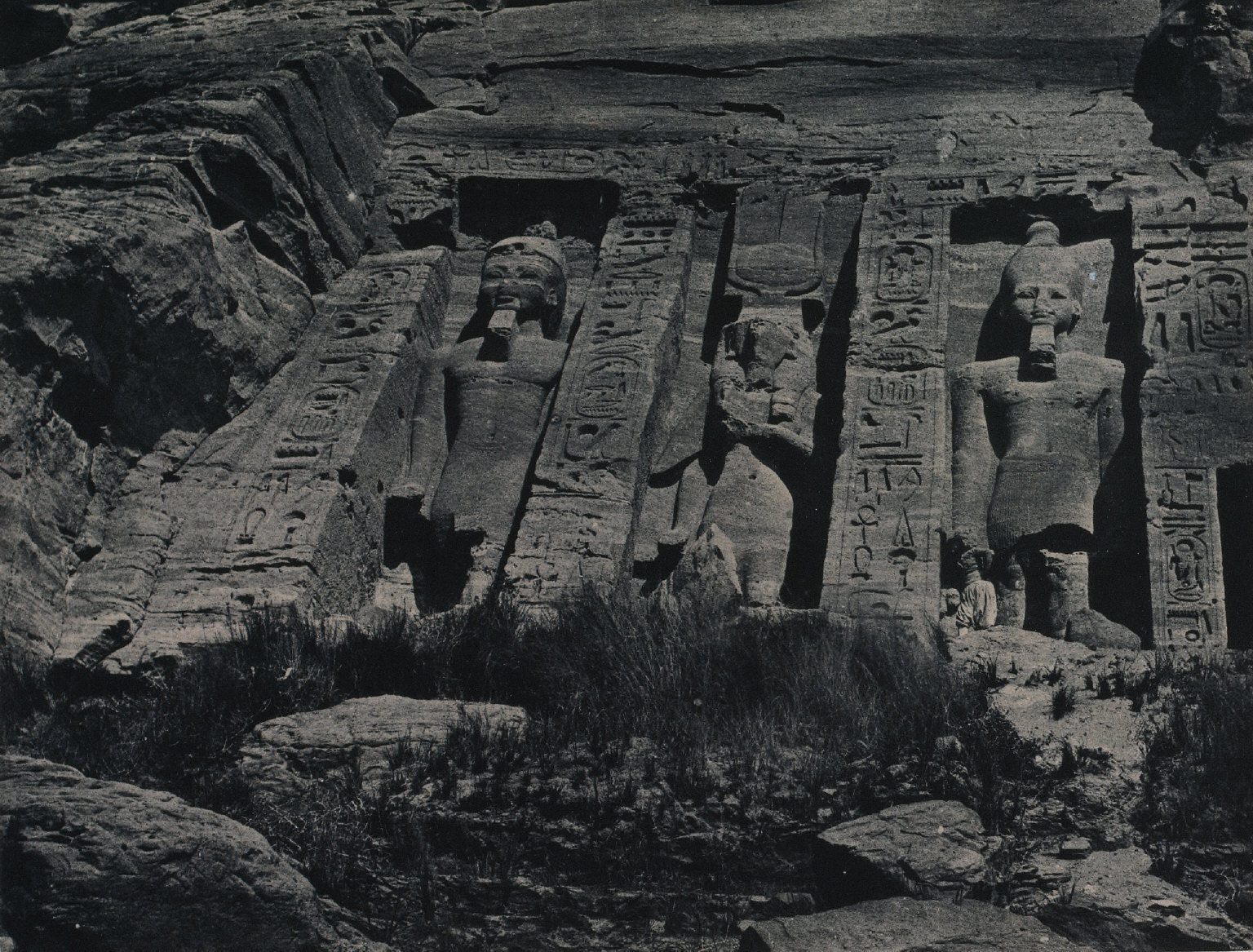 Southern Portion of the Rock-cut Temple of Hathor, Abu Simbel