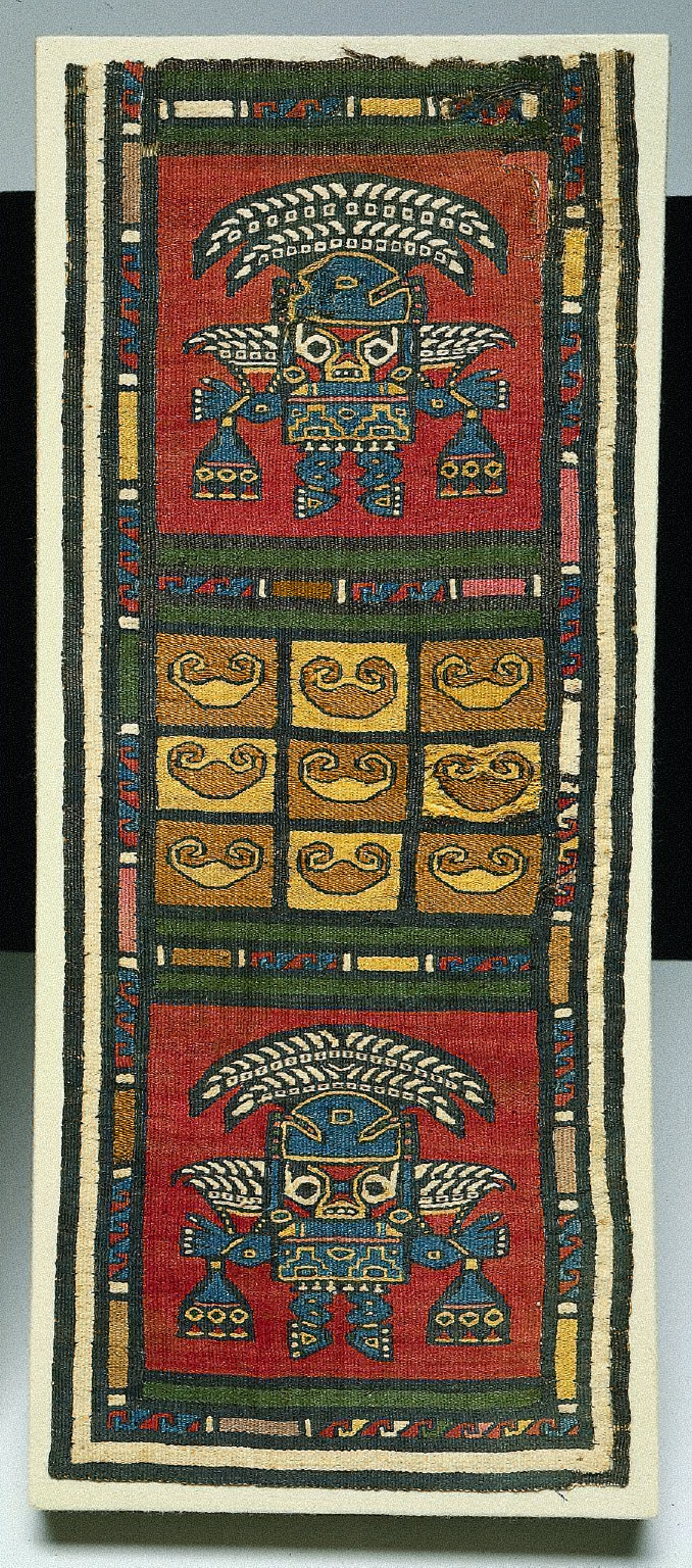 Tapestry Panel with 'Sican' Lord
