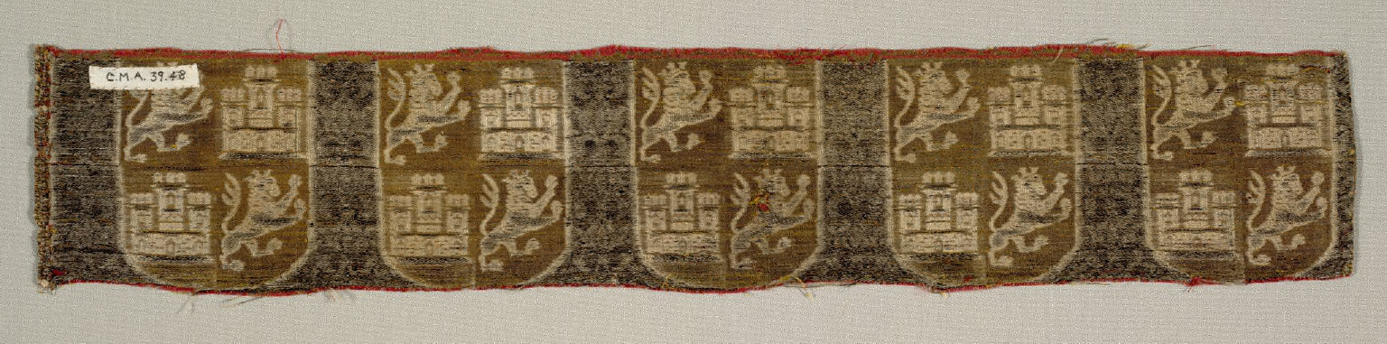 Fragment from a Spanish Imperial Robe