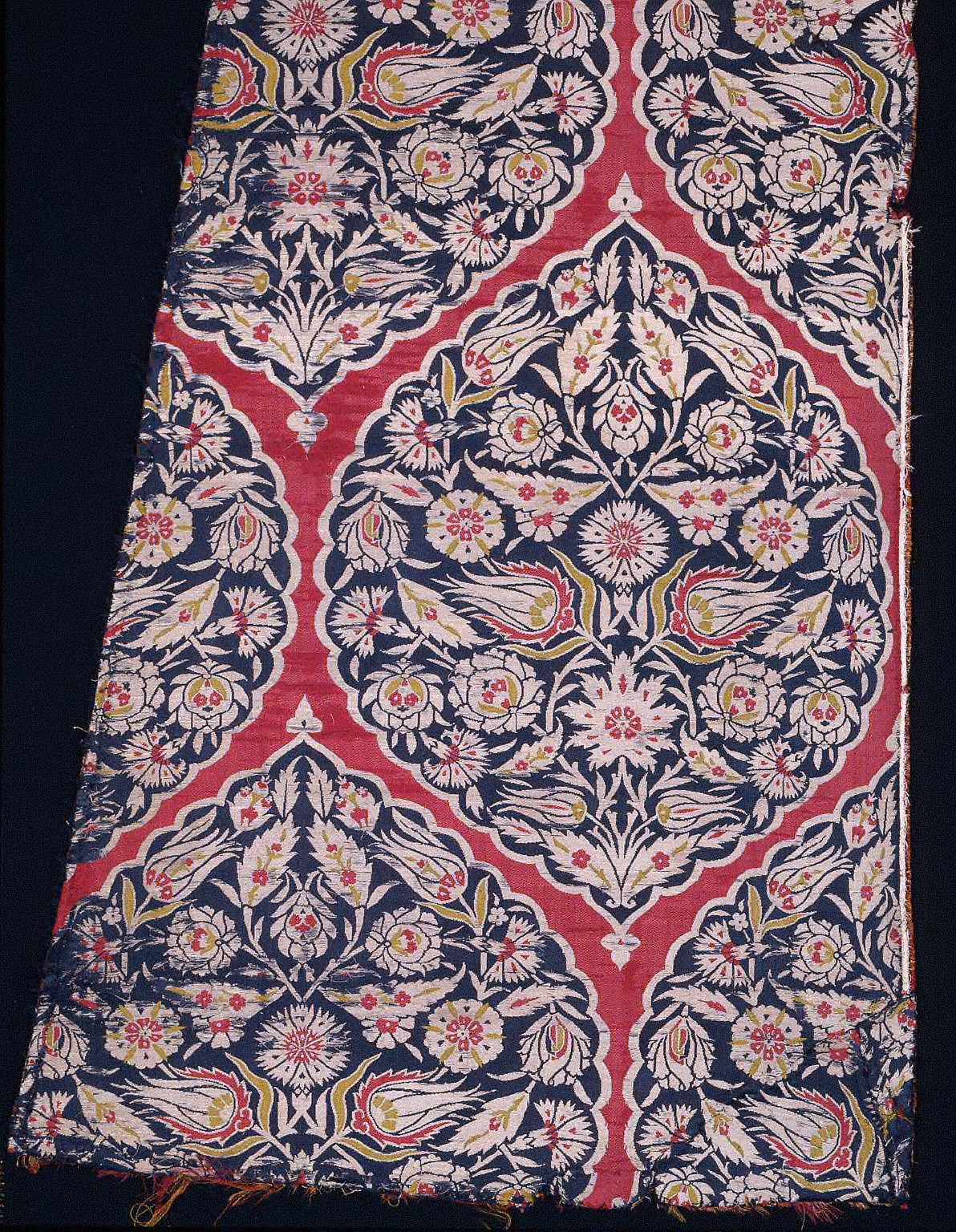 Textile fragment from a garment