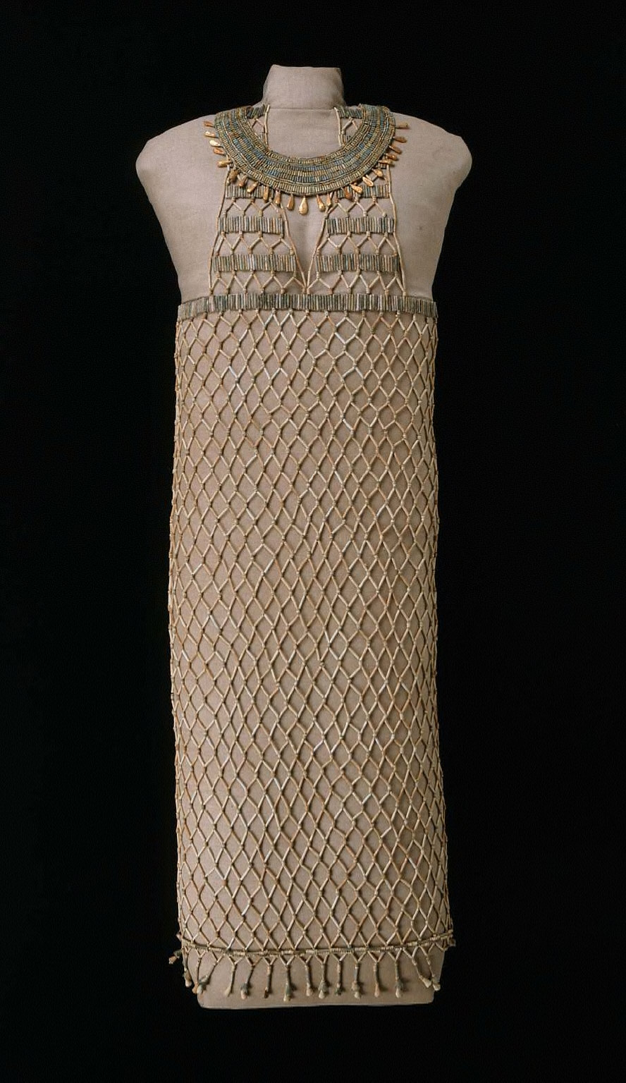 Beadnet dress