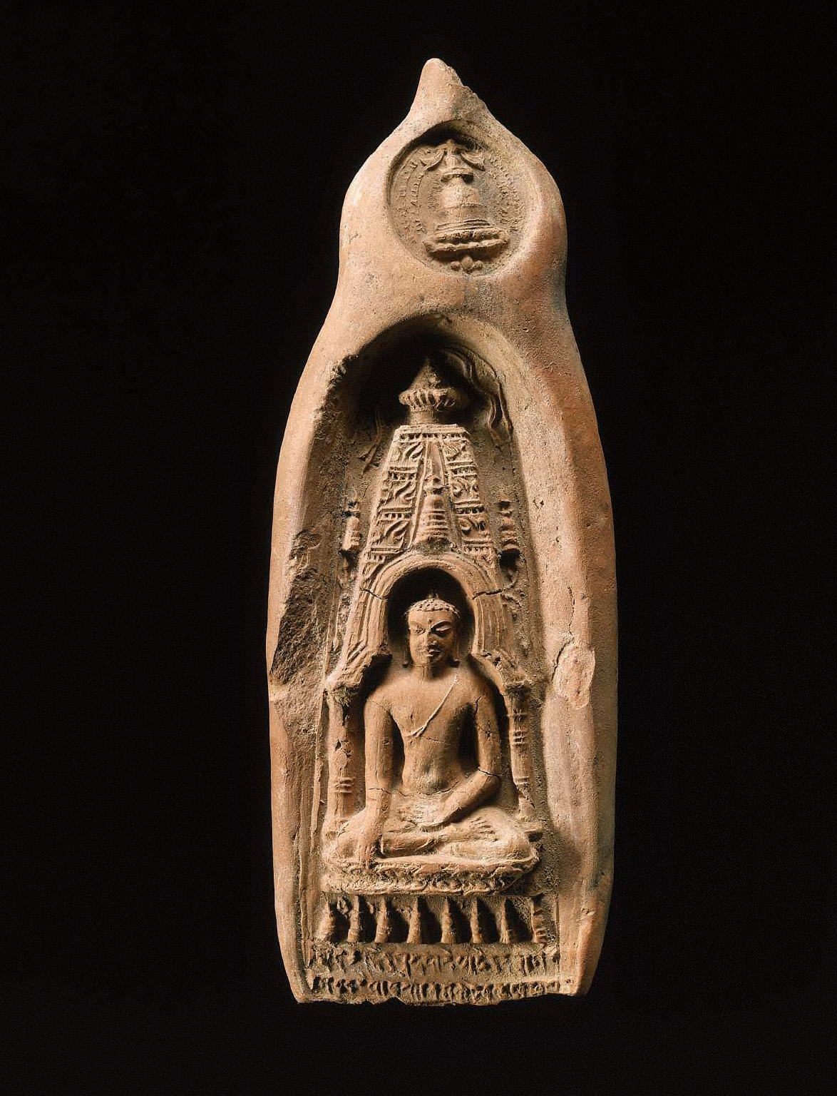 Sakyamuni Buddha at Bodhagaya