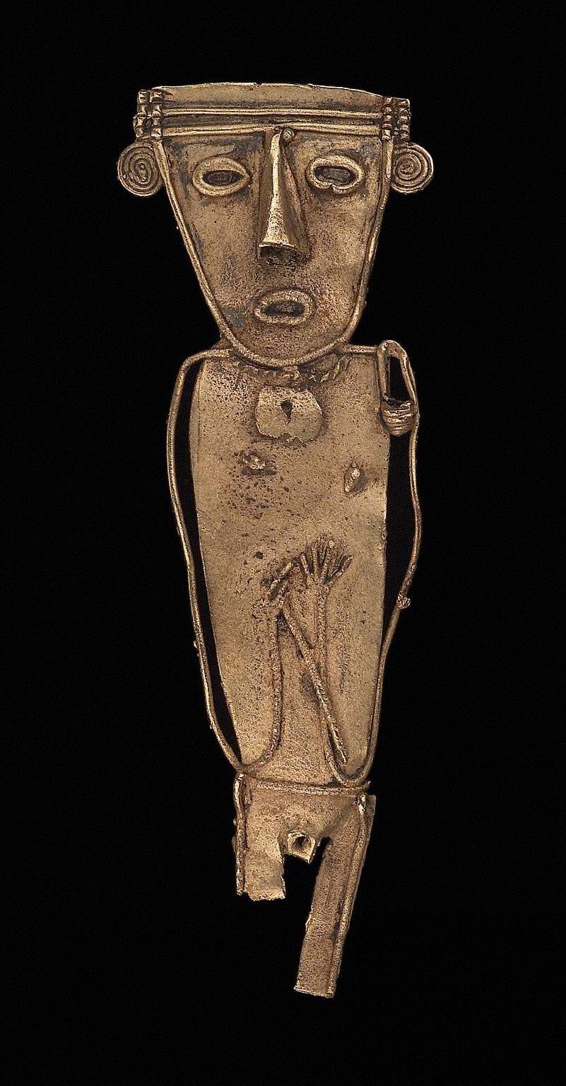 Female effigy figure