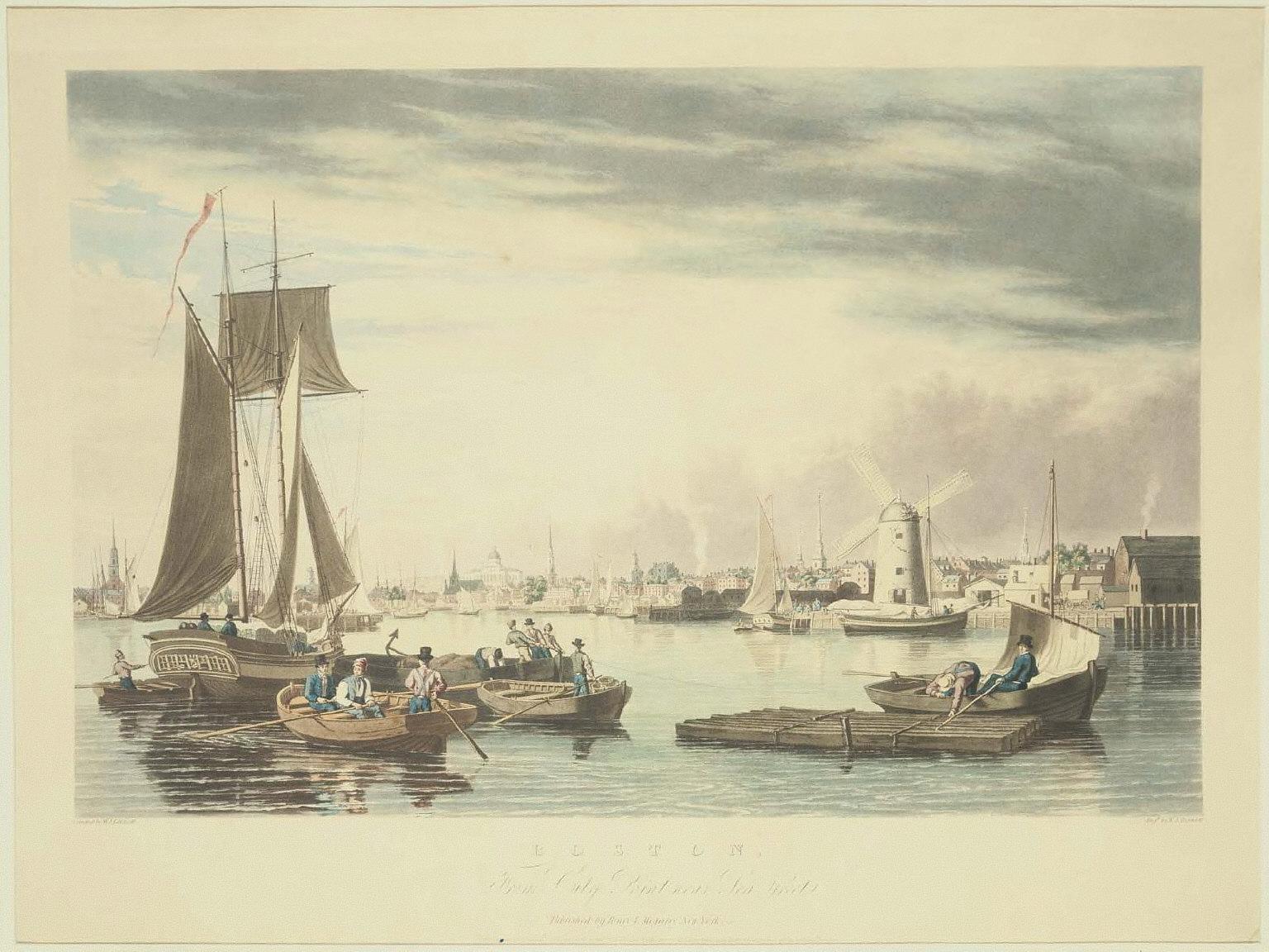 Boston, from City Point near Sea Street
