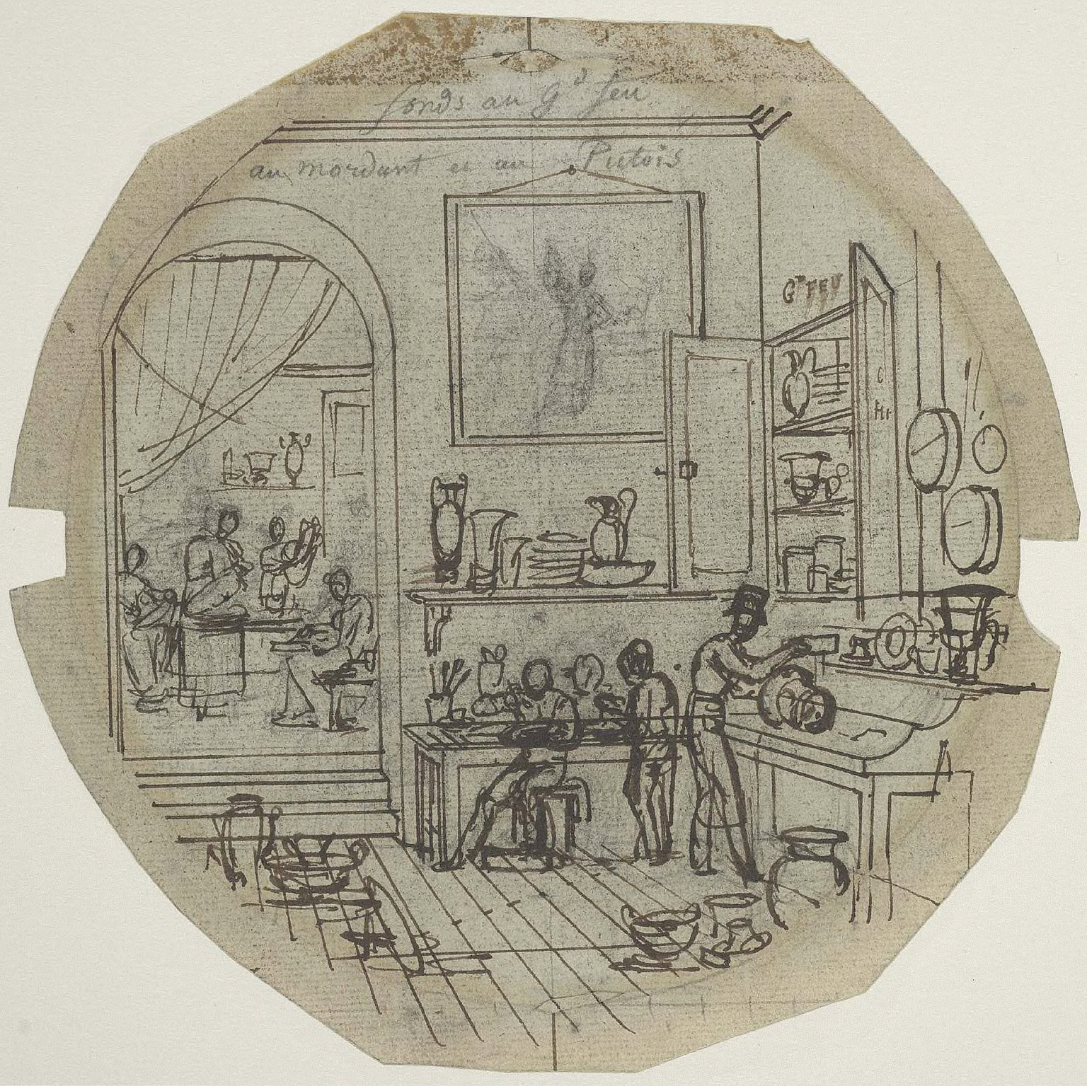 Study for the Service des Arts Industriels