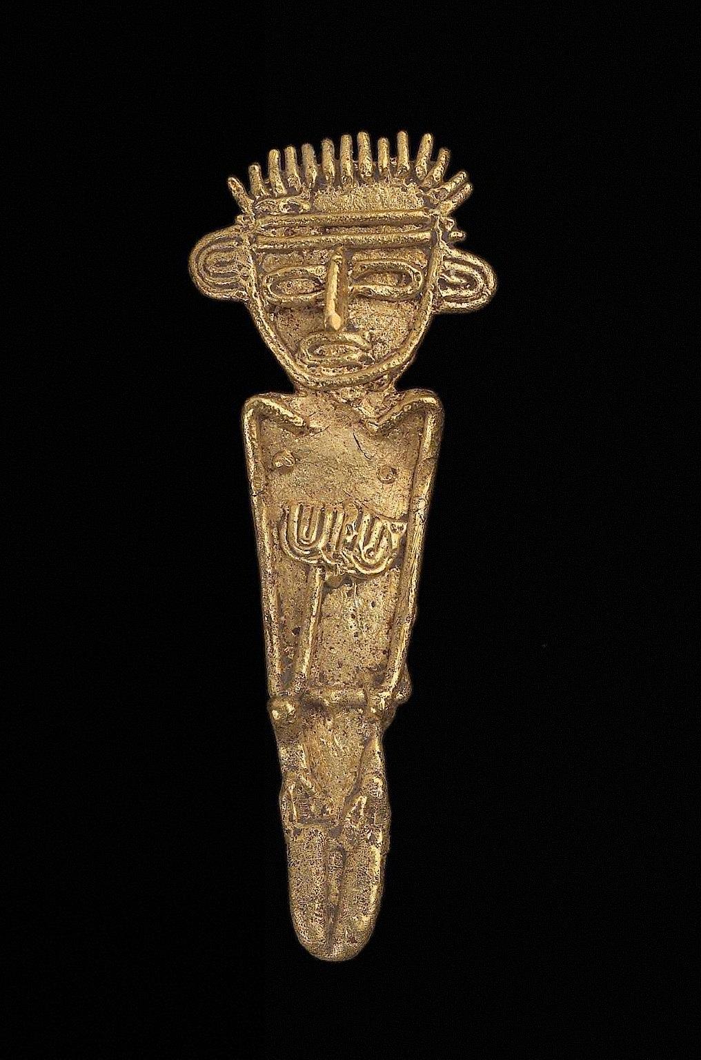 Male effigy figure