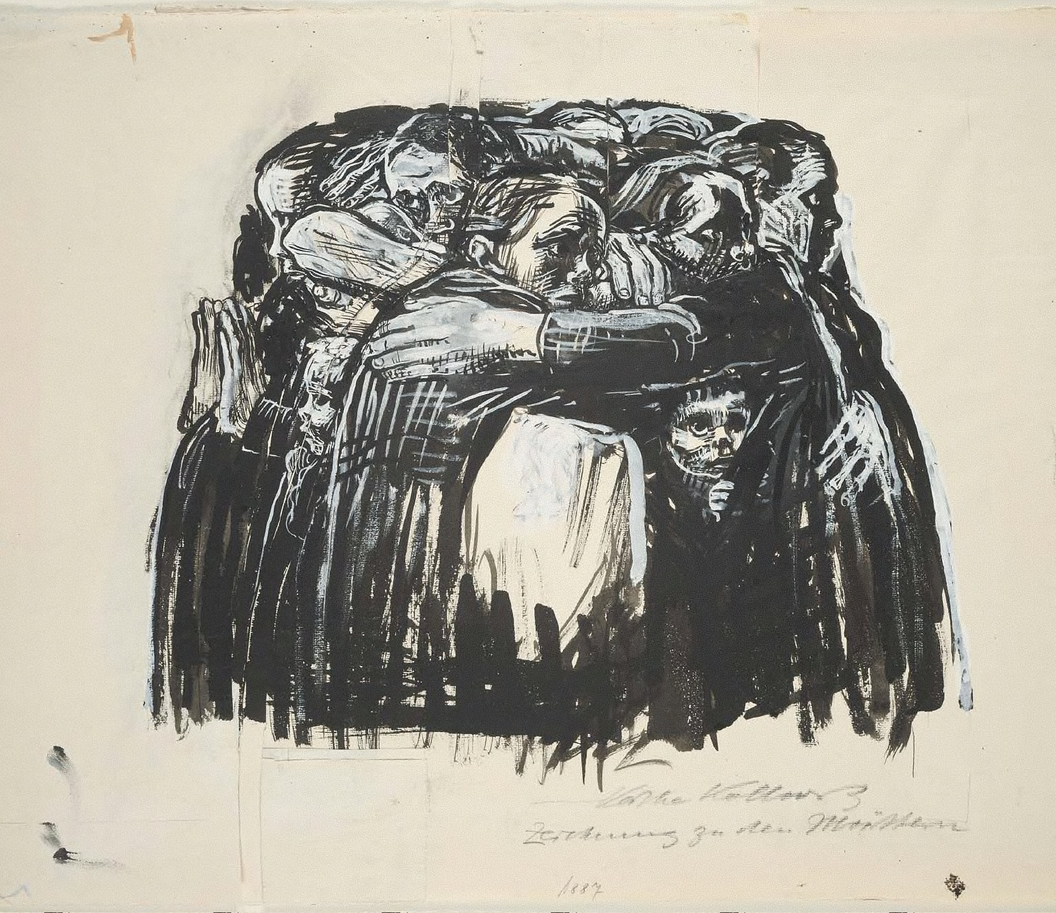 Study for Seven Woodcuts on War: The Mothers