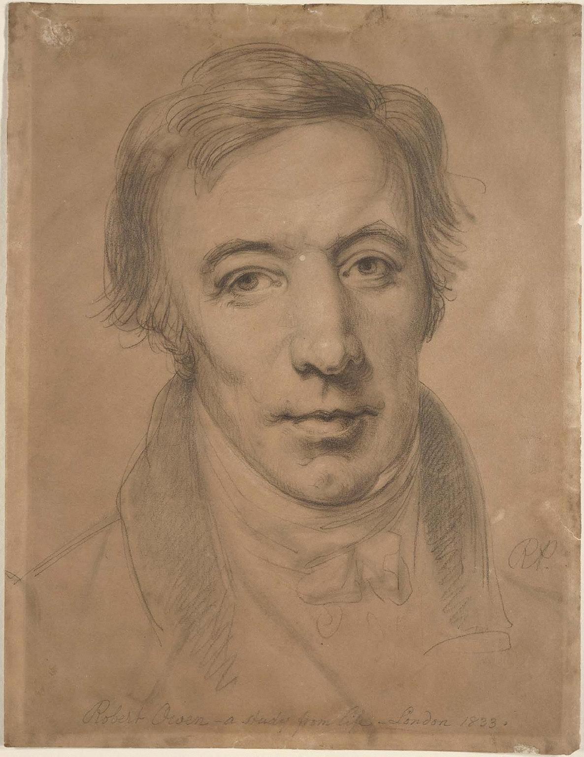 Robert Owen, a Study from Life