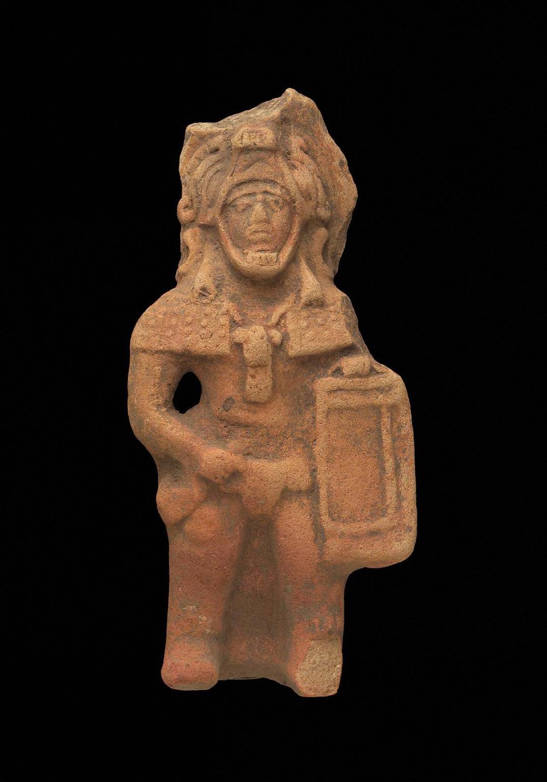 Warrior effigy