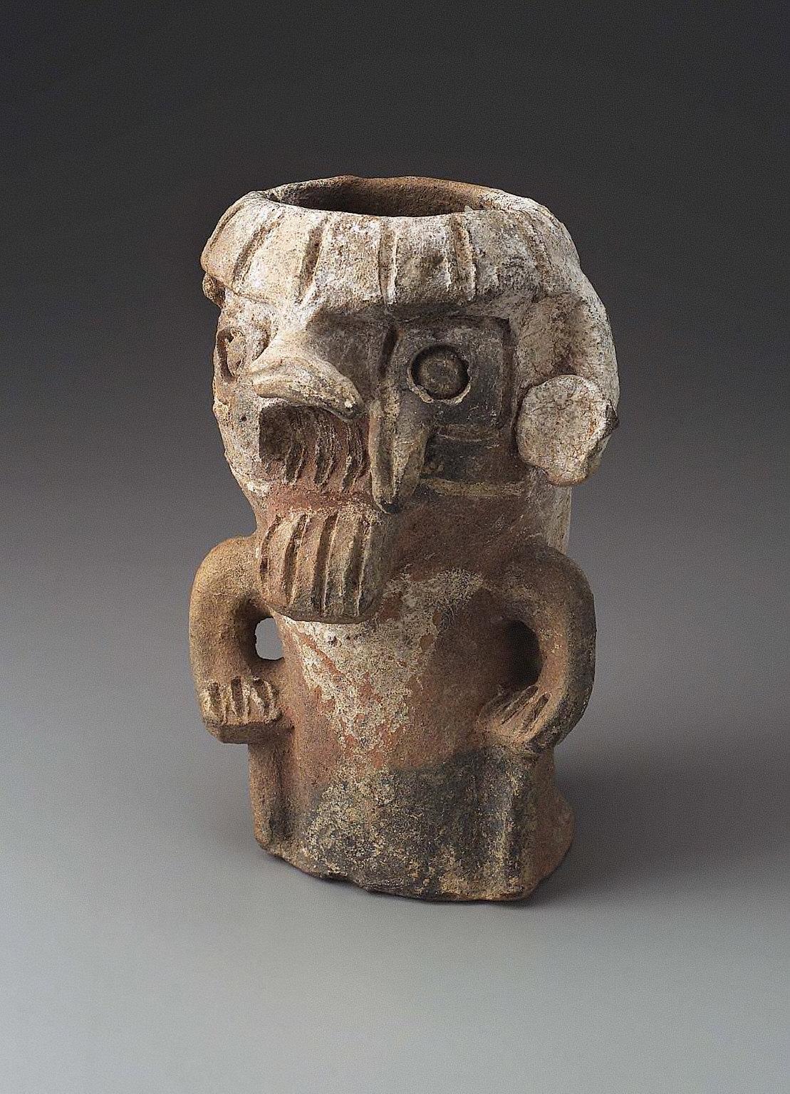 Figural effigy vessel