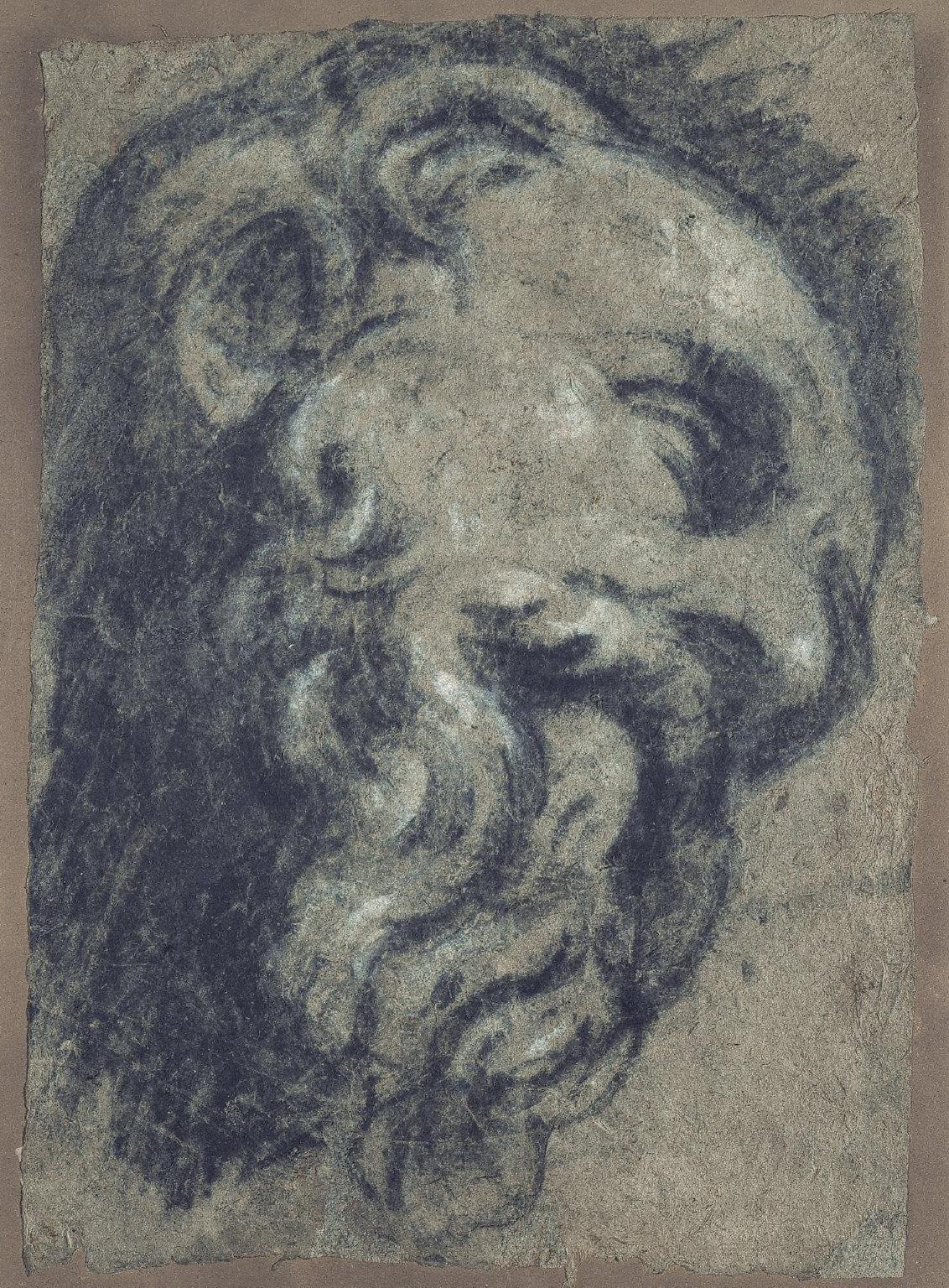 Study after Michelangelo's Saint Damian
