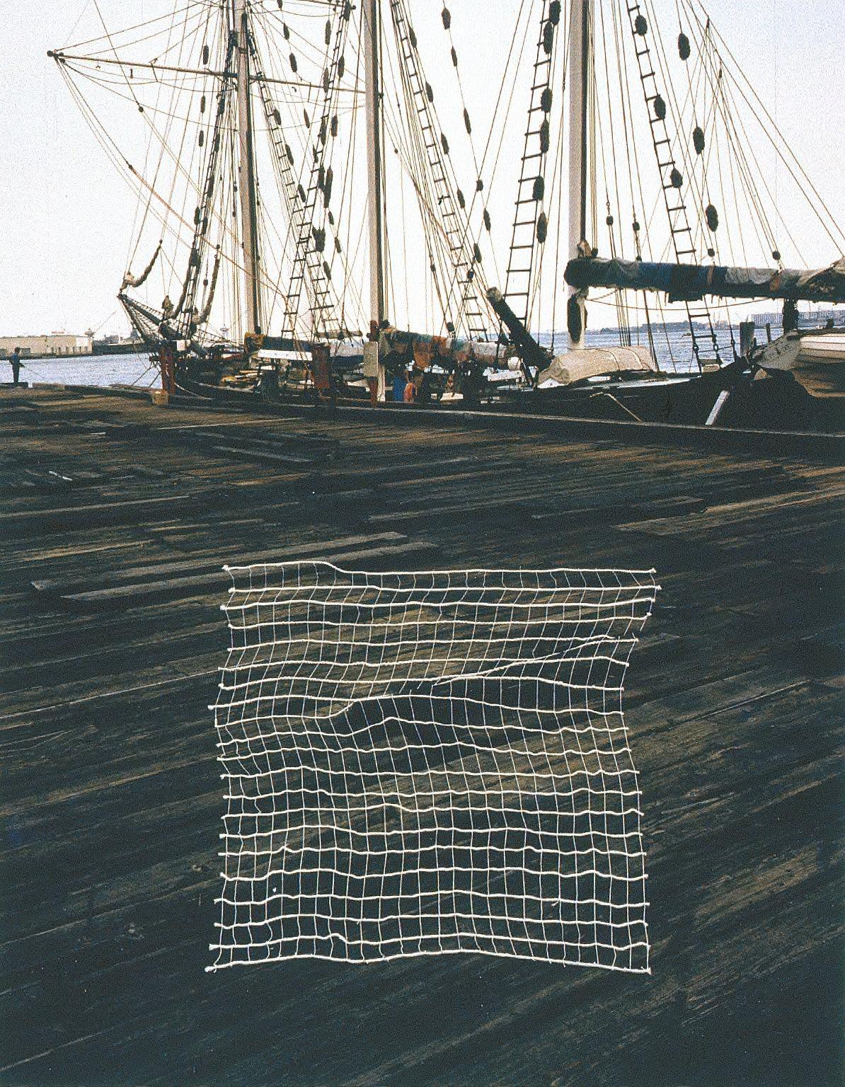 "Net and Ship, ""The Sophia,"" Boston, MA"