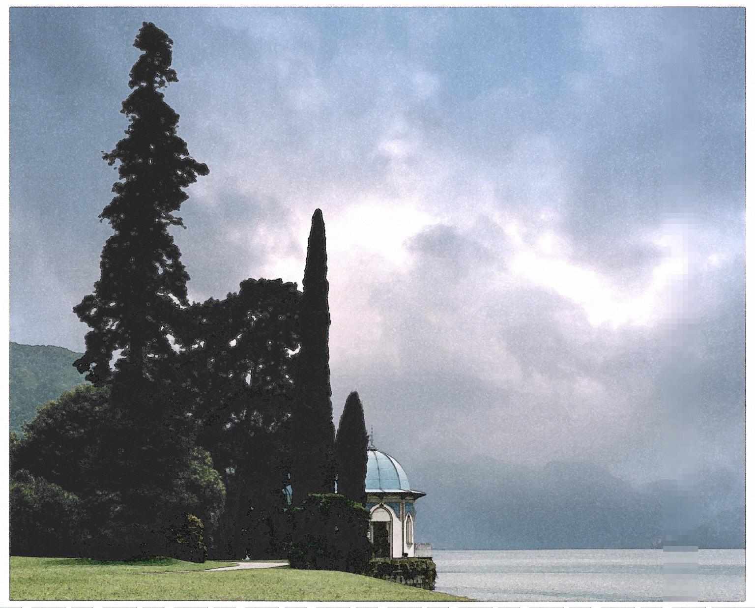 Gardens of the Villa Melzi, Lake Como, Italy