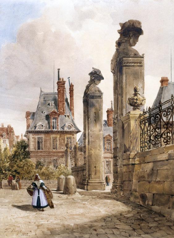 GRILIMA_le des Hermès, Porte Dauphine, Palace of Fontainebleau