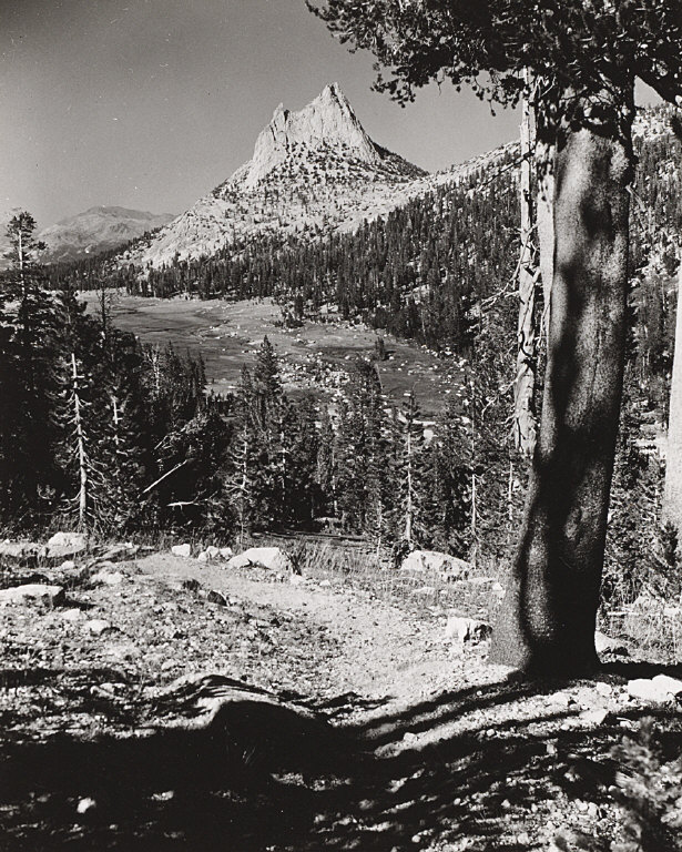 Cathedral Peak (Christmas 1946 card)