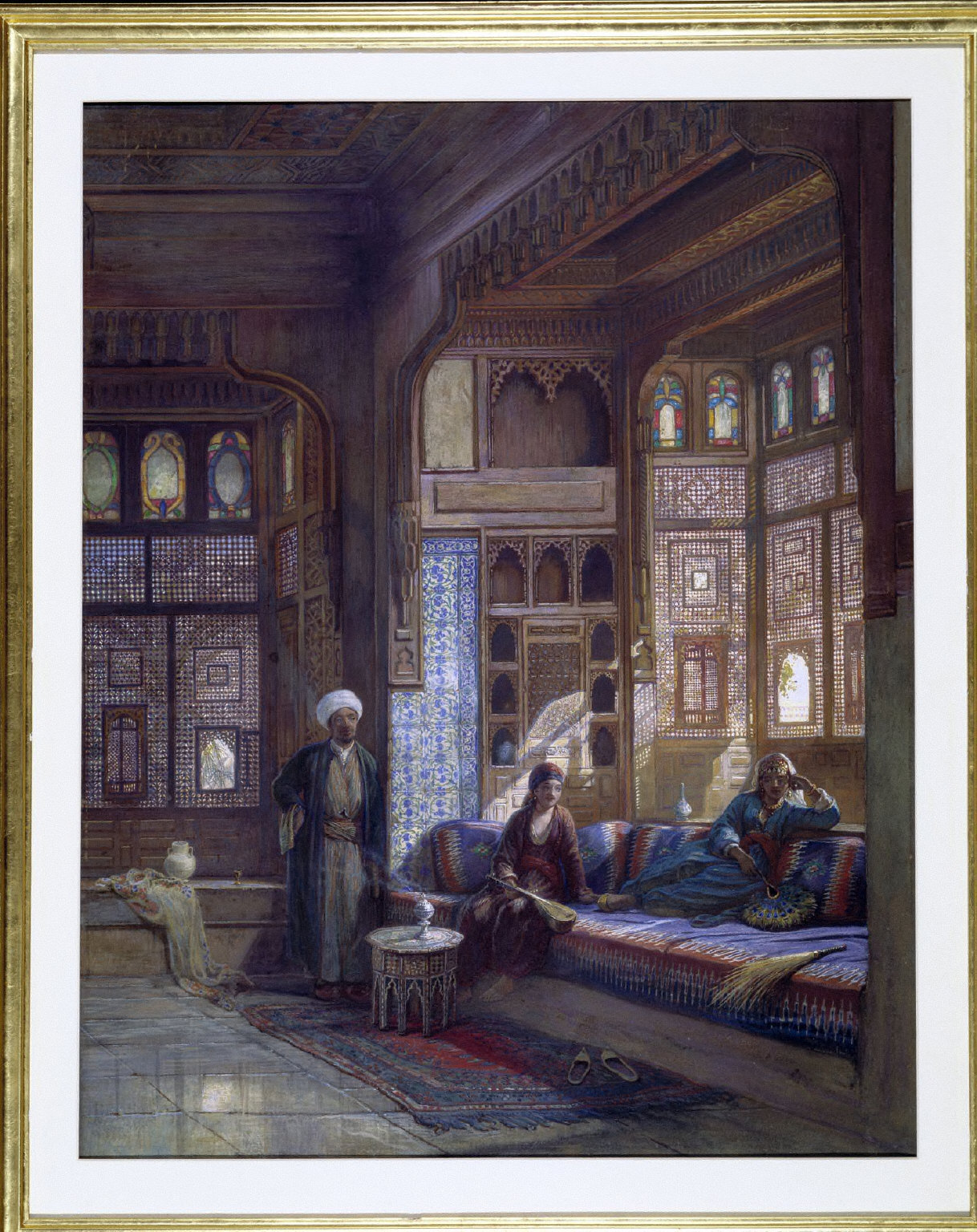A ROOM IN THE HOUSE OF SHAYK SADAT, CAIRO