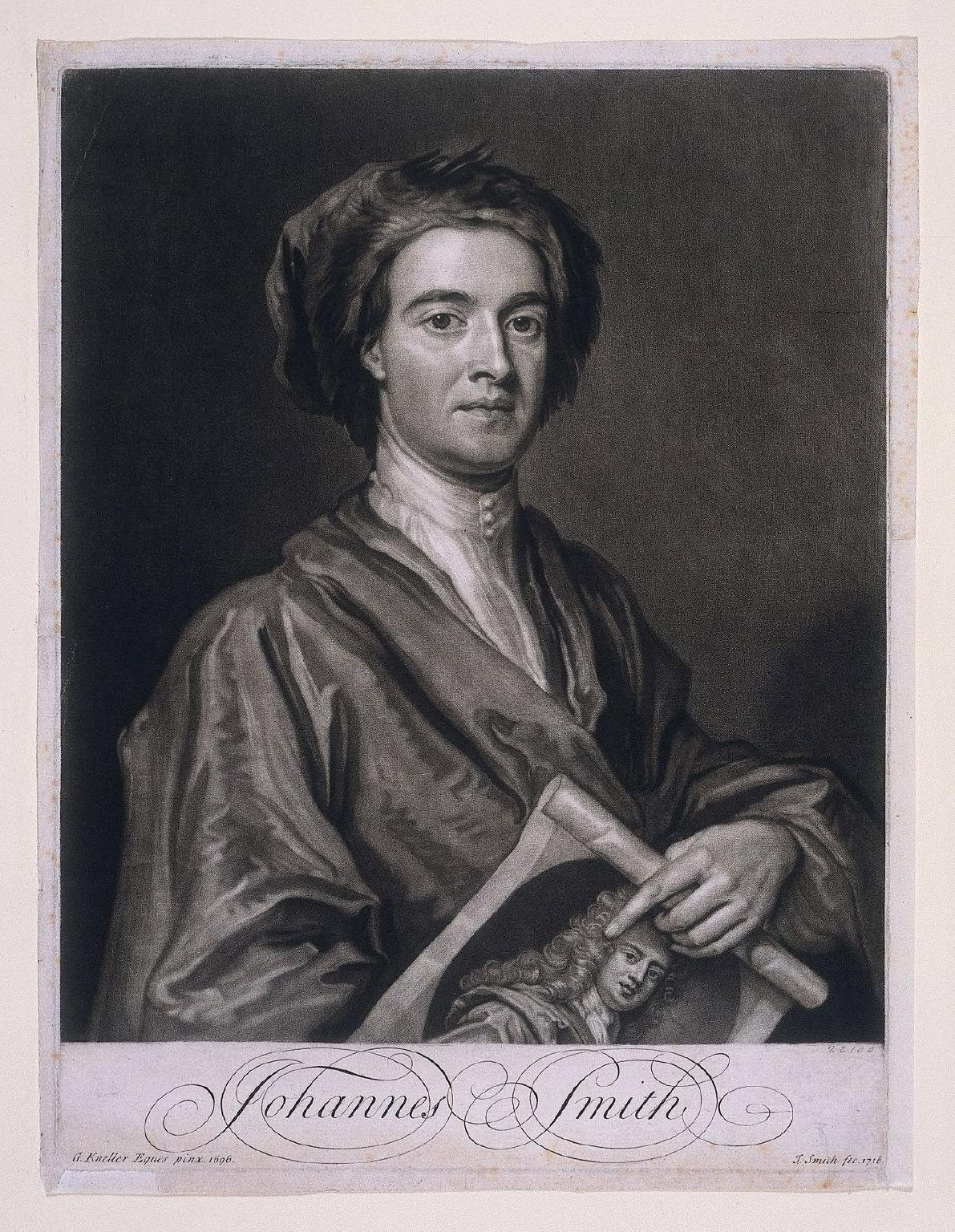 MEZZOTINT of John Smith