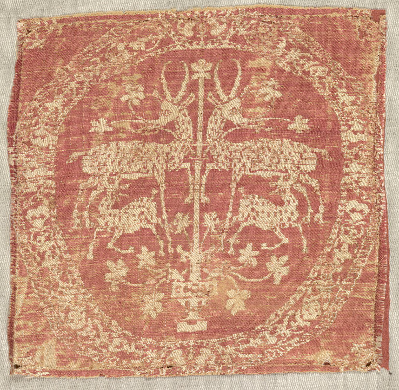 Square Ornament from a Tunic
