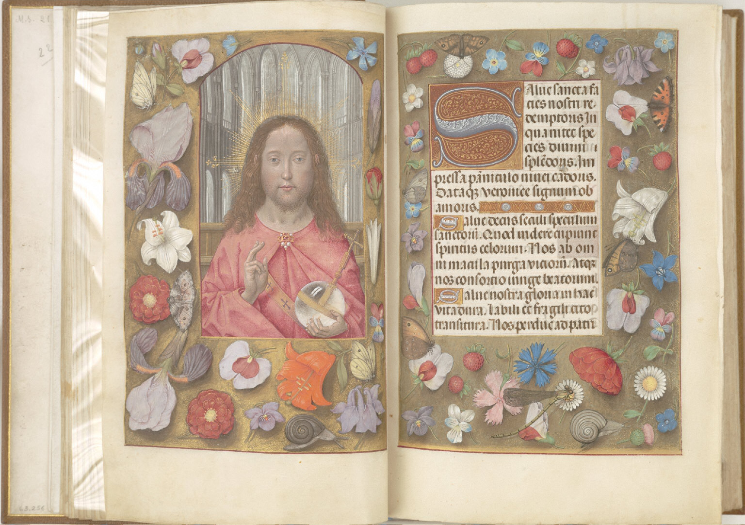 Hours of Queen Isabella the Catholic, Queen of Spain: Text - Salve Sancta Facies, fol. 15 (recto)