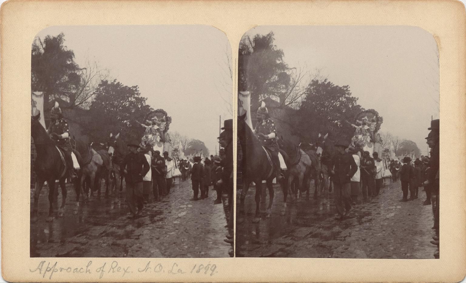 Mardi Gras parade 1899
