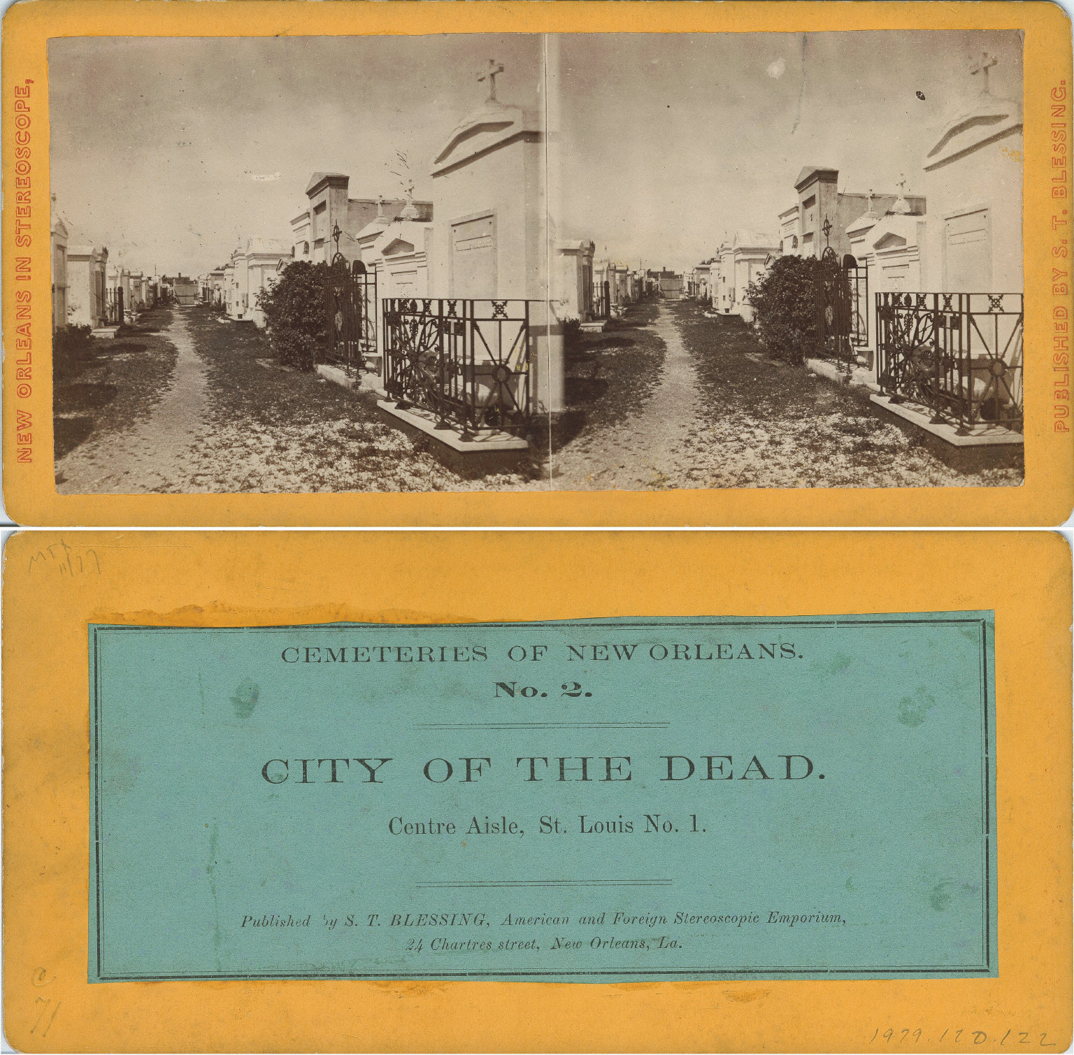 City of the dead center aisle St. Louis No. 1
