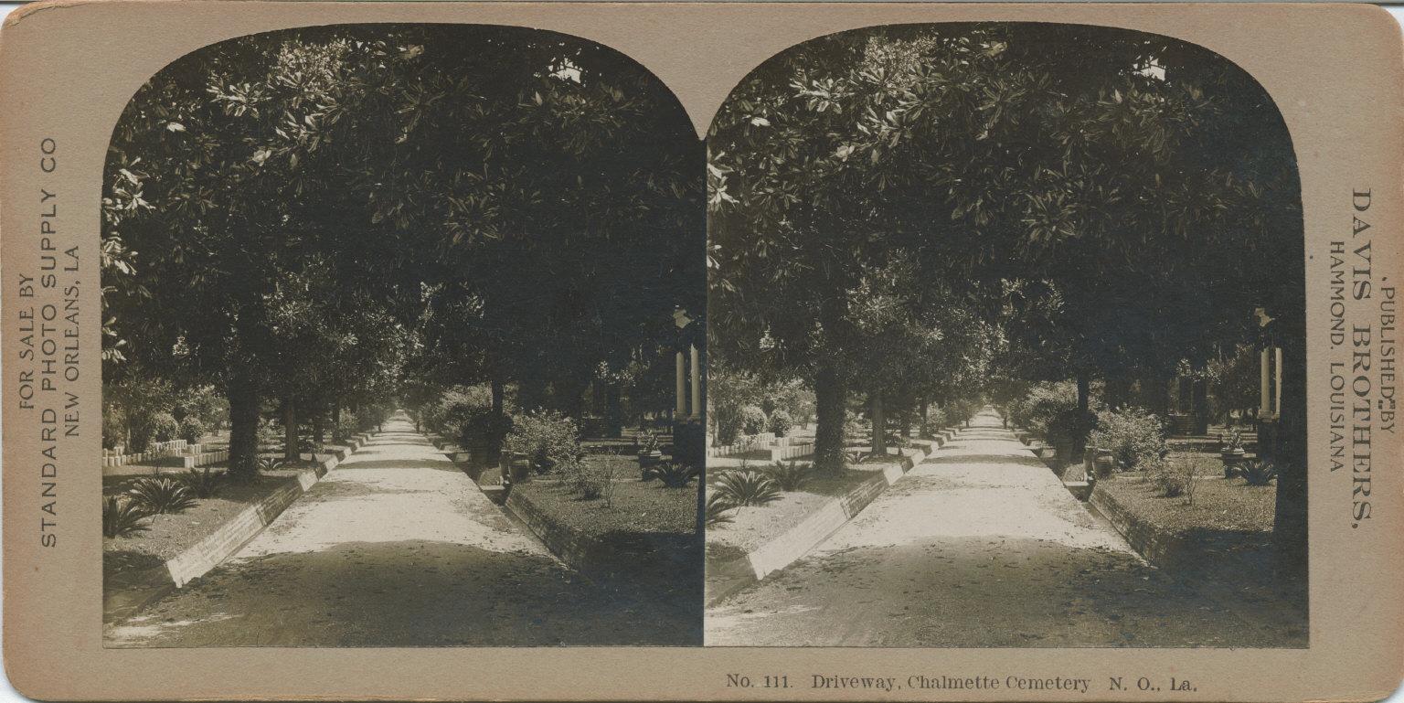 Driveway Chalmette Cemetery