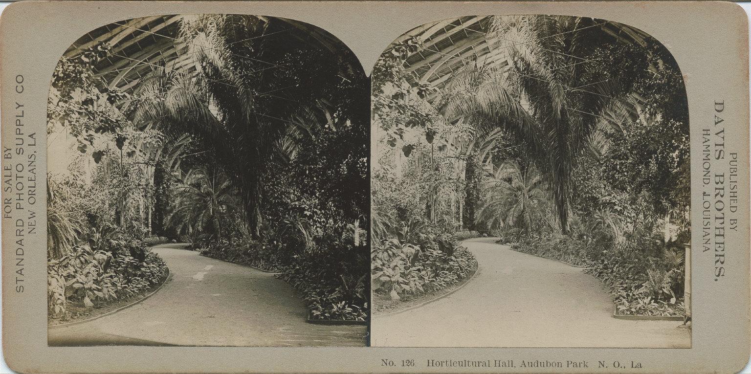 Horticulture Hall Audubon Park