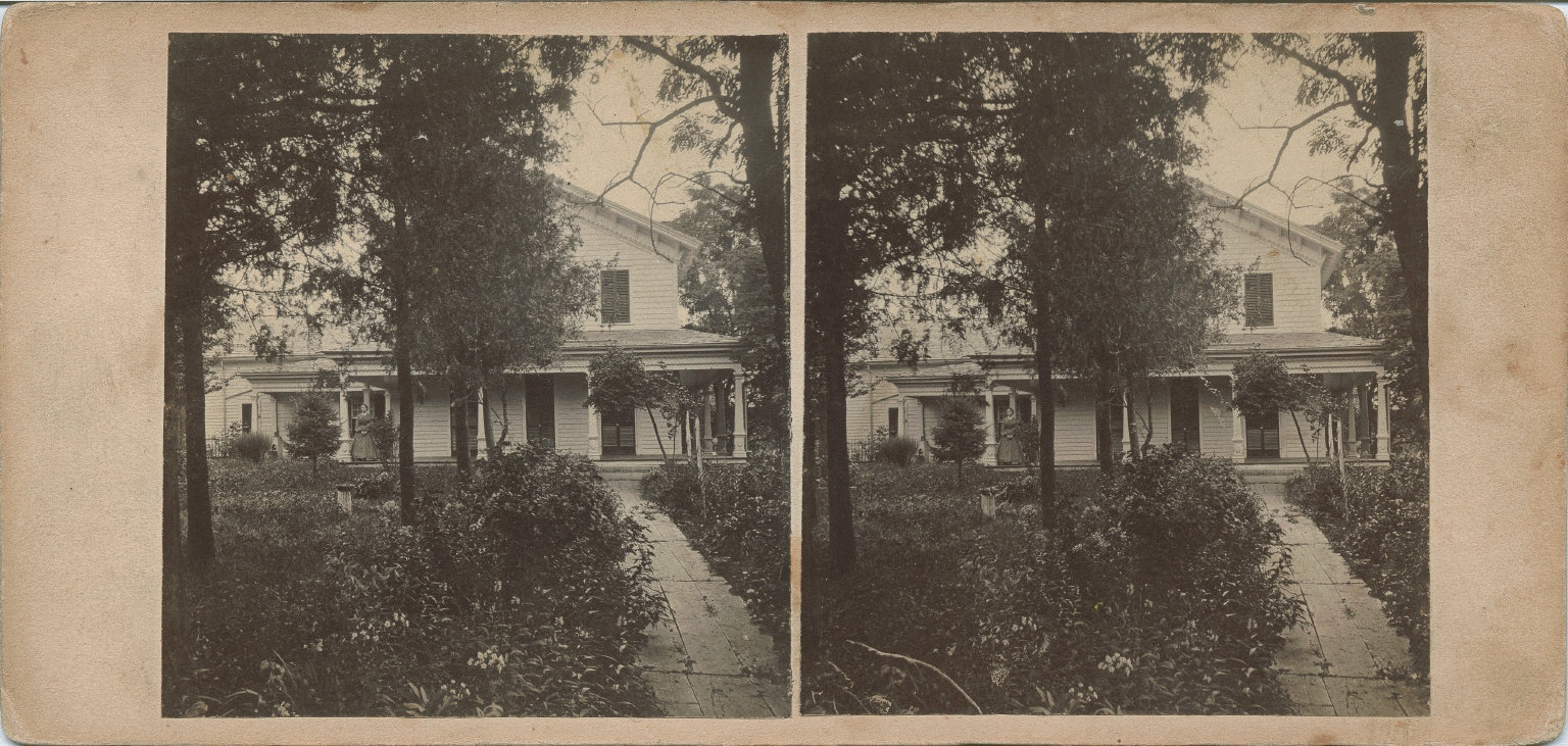 Residence from Lafayette Square