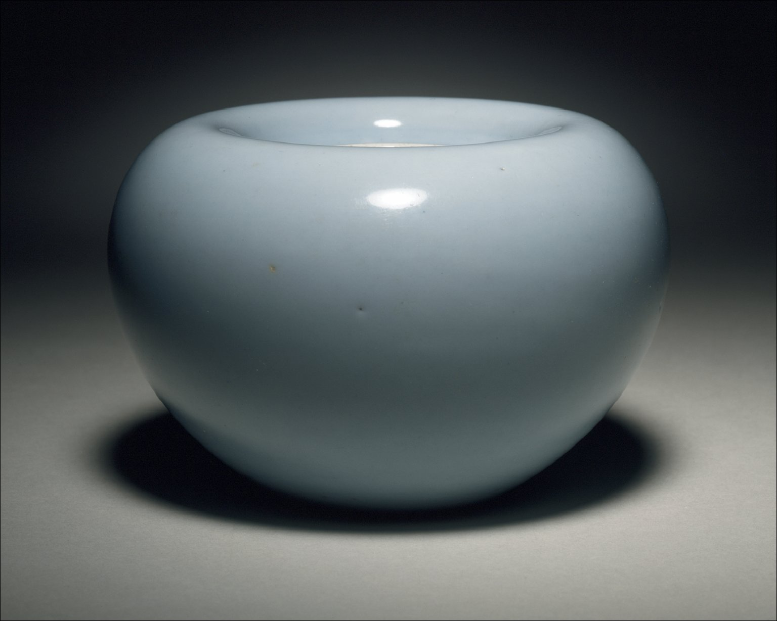 Water Pot (Shuicheng) in the Form of an Apple