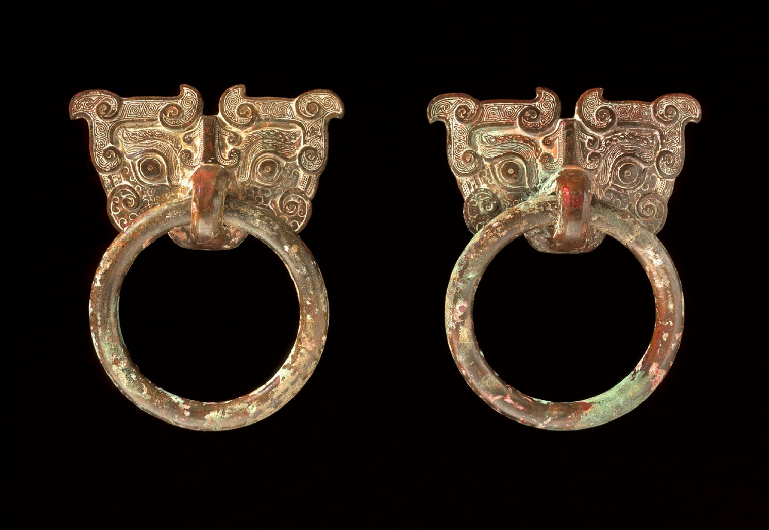 Mask Mounts with Ring Handles
