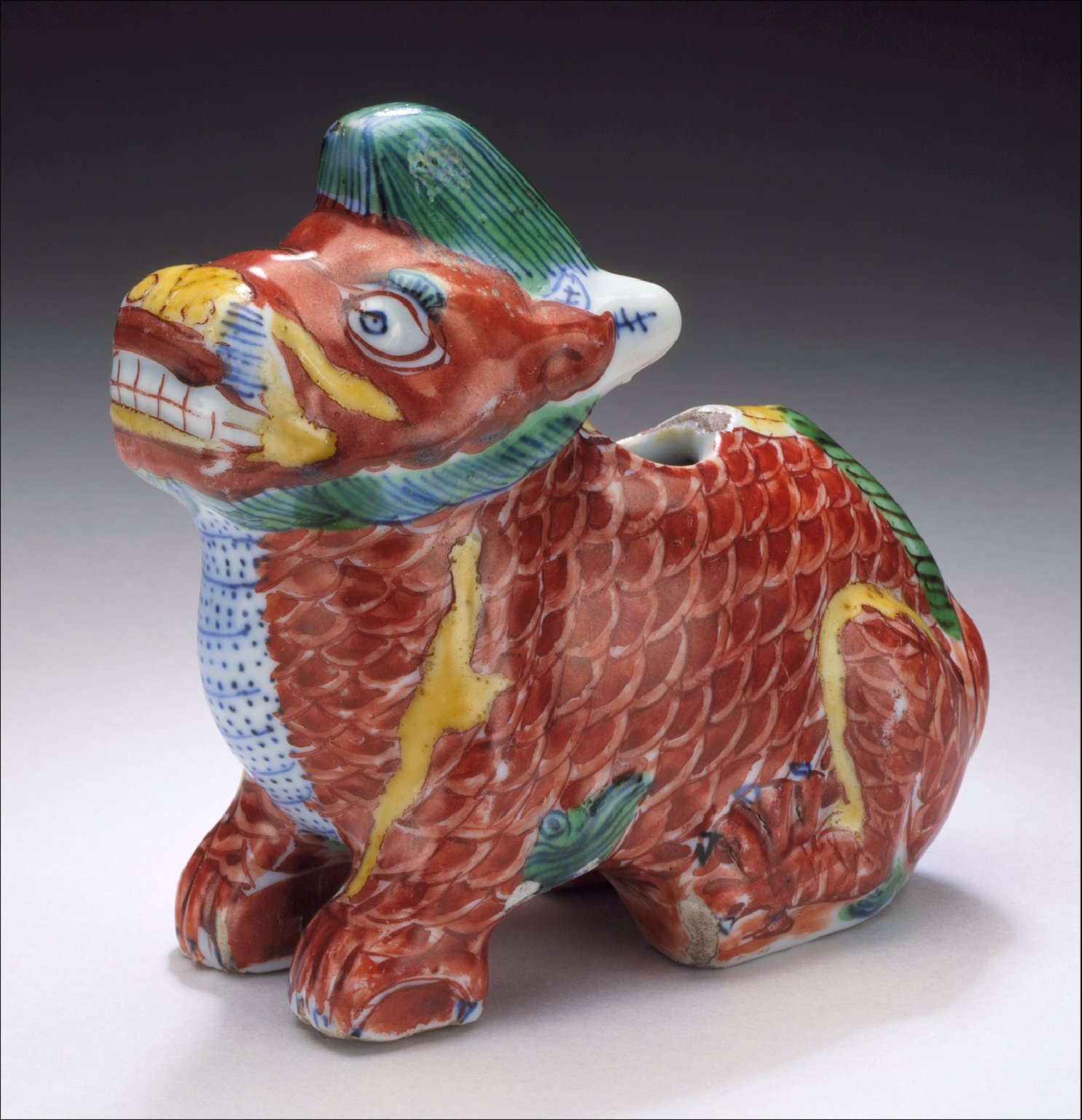 Censer (Lu) in the Form of a Unicorn (Qilin)