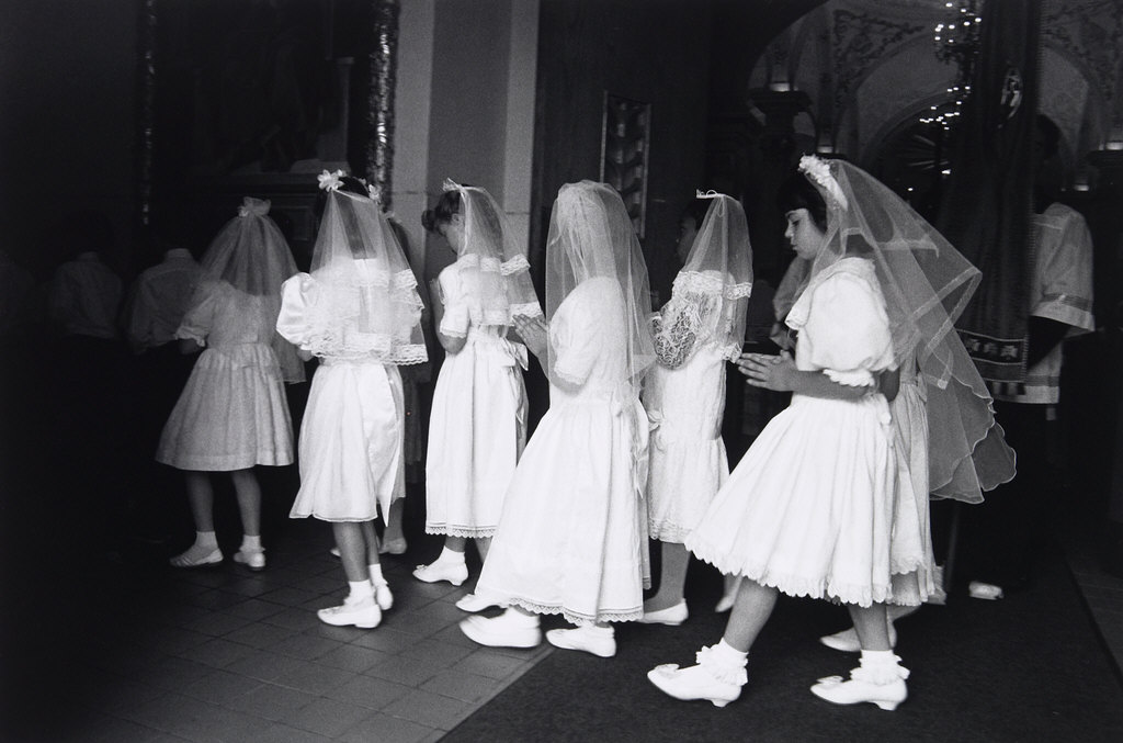 First Communion, Church of St. Agnes, Frogtown