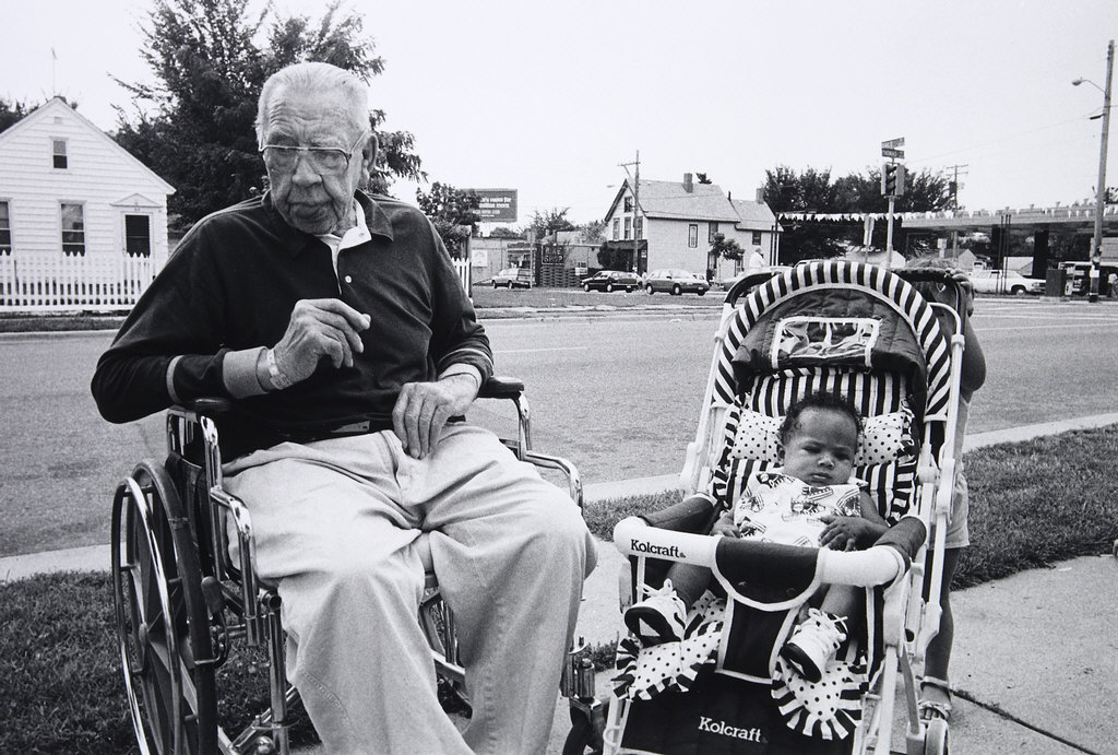 Man and Baby, Frogtown