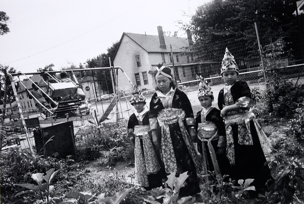 Hmong Females in Traditional Costume, Frogtown