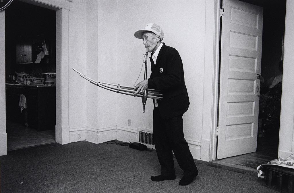 Man Playing the Kheng, Frogtown