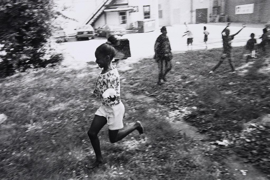 Girl Running, Frogtown