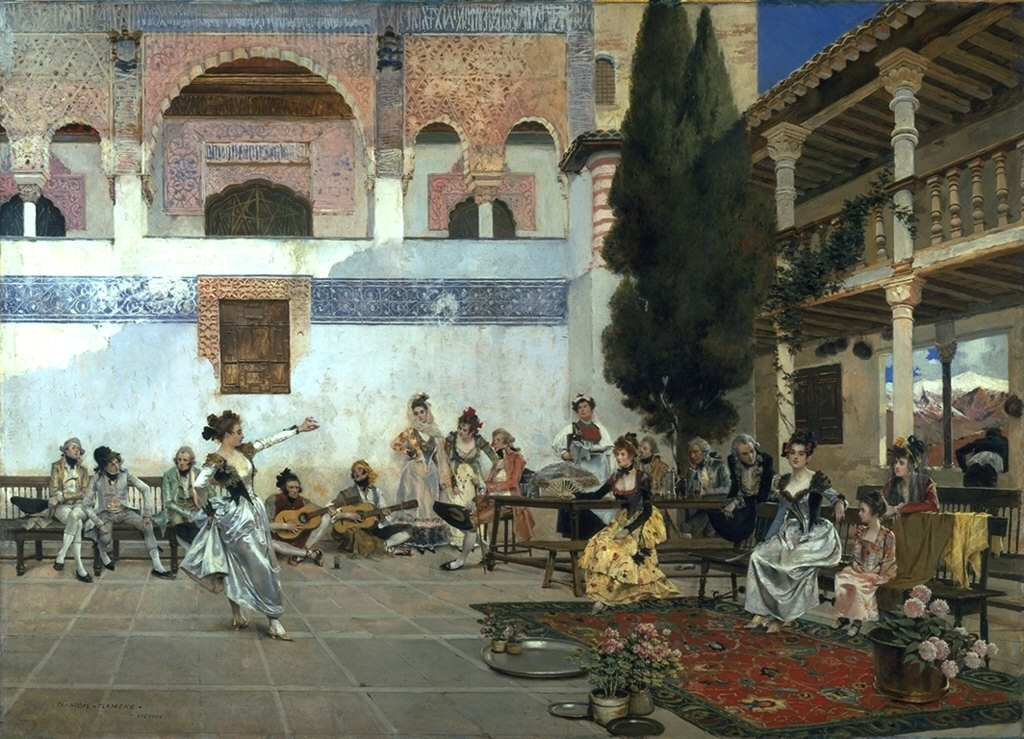 Courtyard of the Alhambra