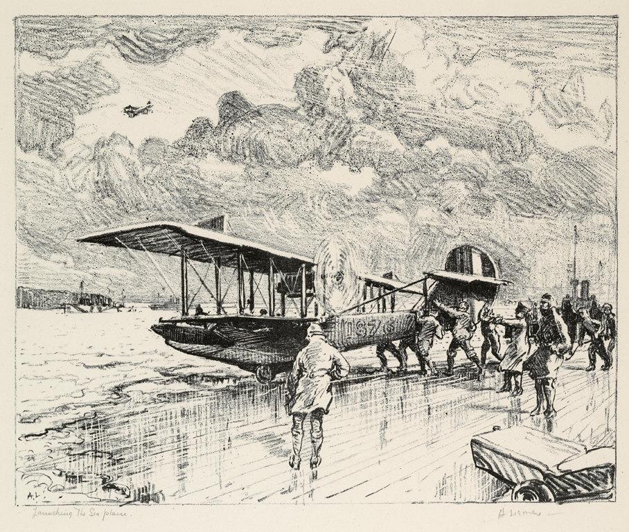 Launching the Seaplane