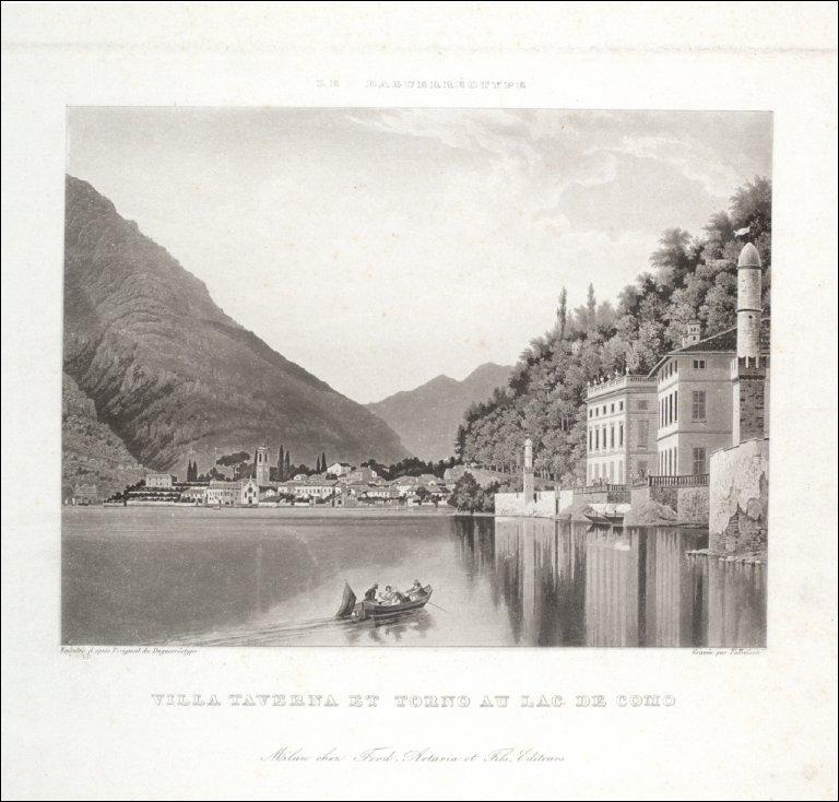 Villa Taverna et Torno au Lac de Como