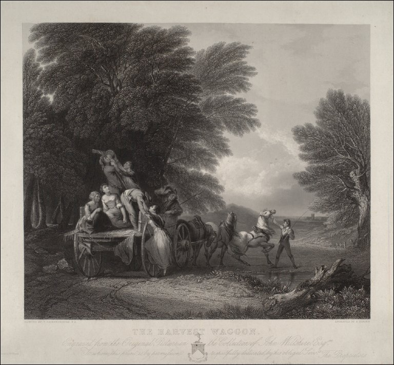 The Harvest Waggon (after Gainsborough)
