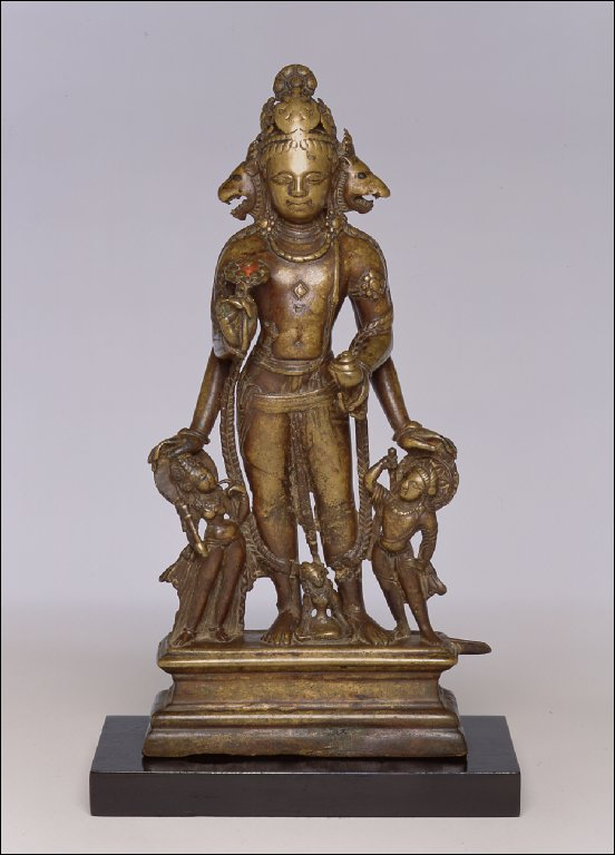 Vishnu with Lion and Boar Heads (Vishnu Vaikuntha)